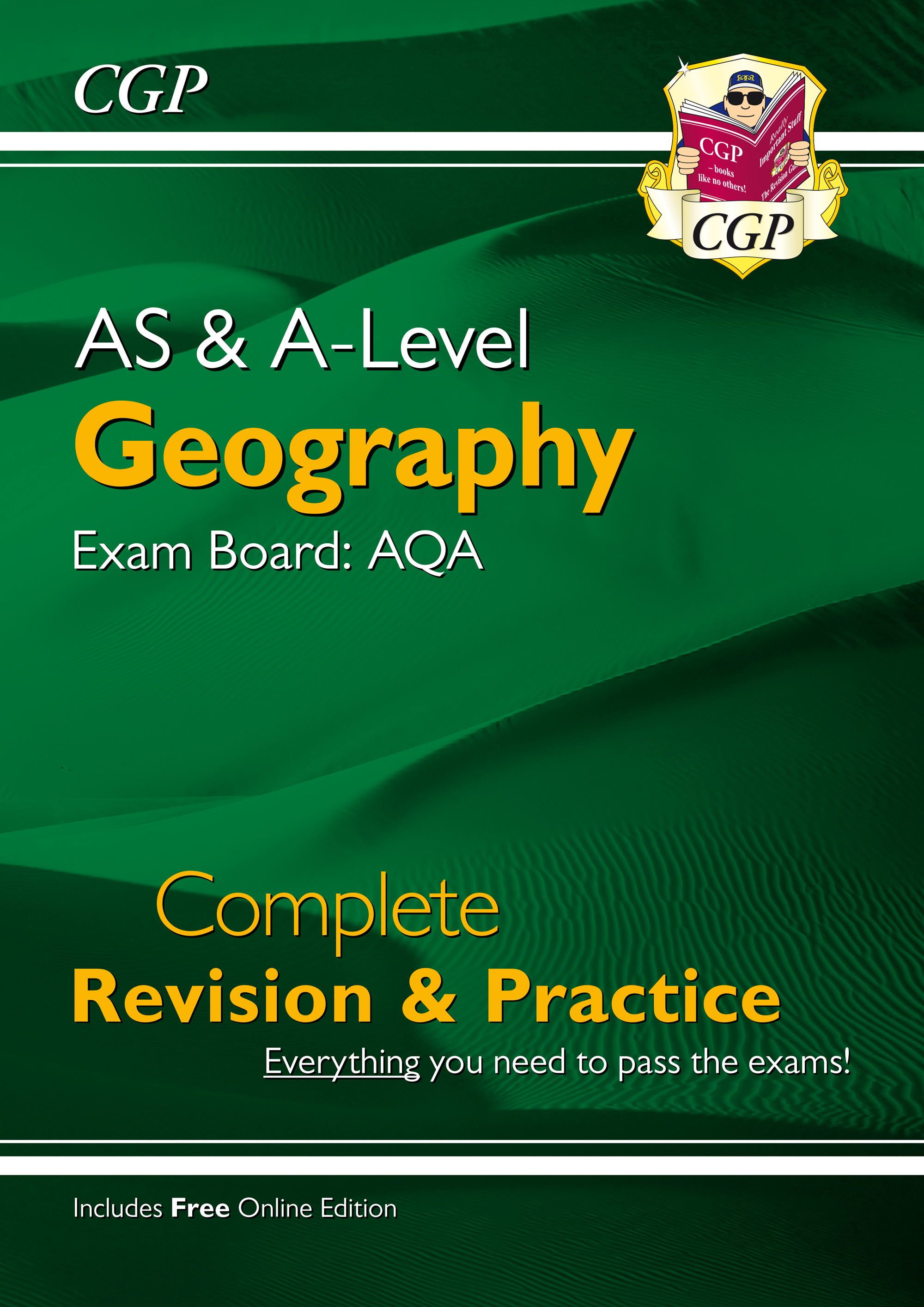 GAR73 - New AS and A-Level Geography: AQA Complete Revision & Practice (with Online Edition)
