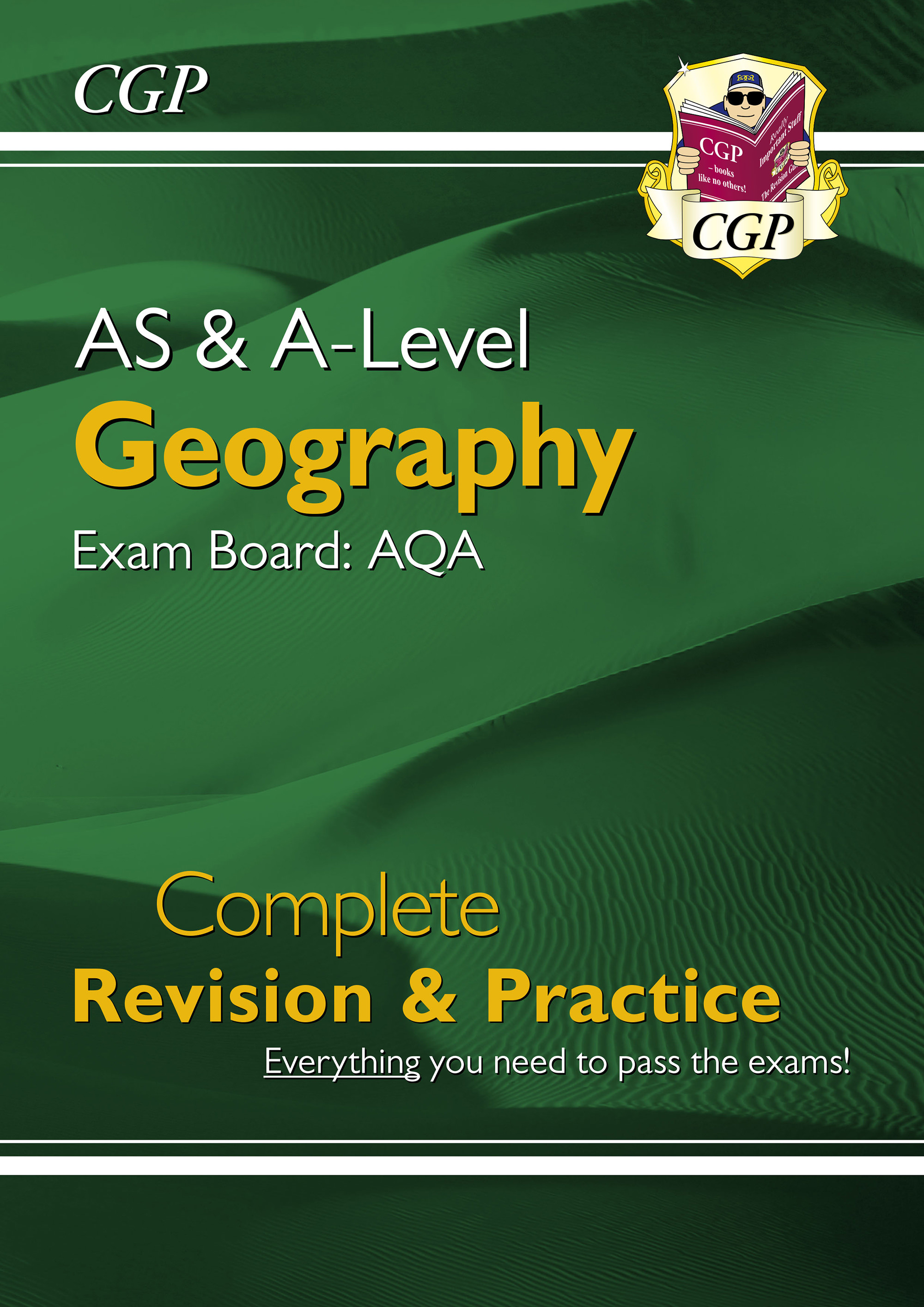GAR73DK - New AS and A-Level Geography: AQA Complete Revision & Practice