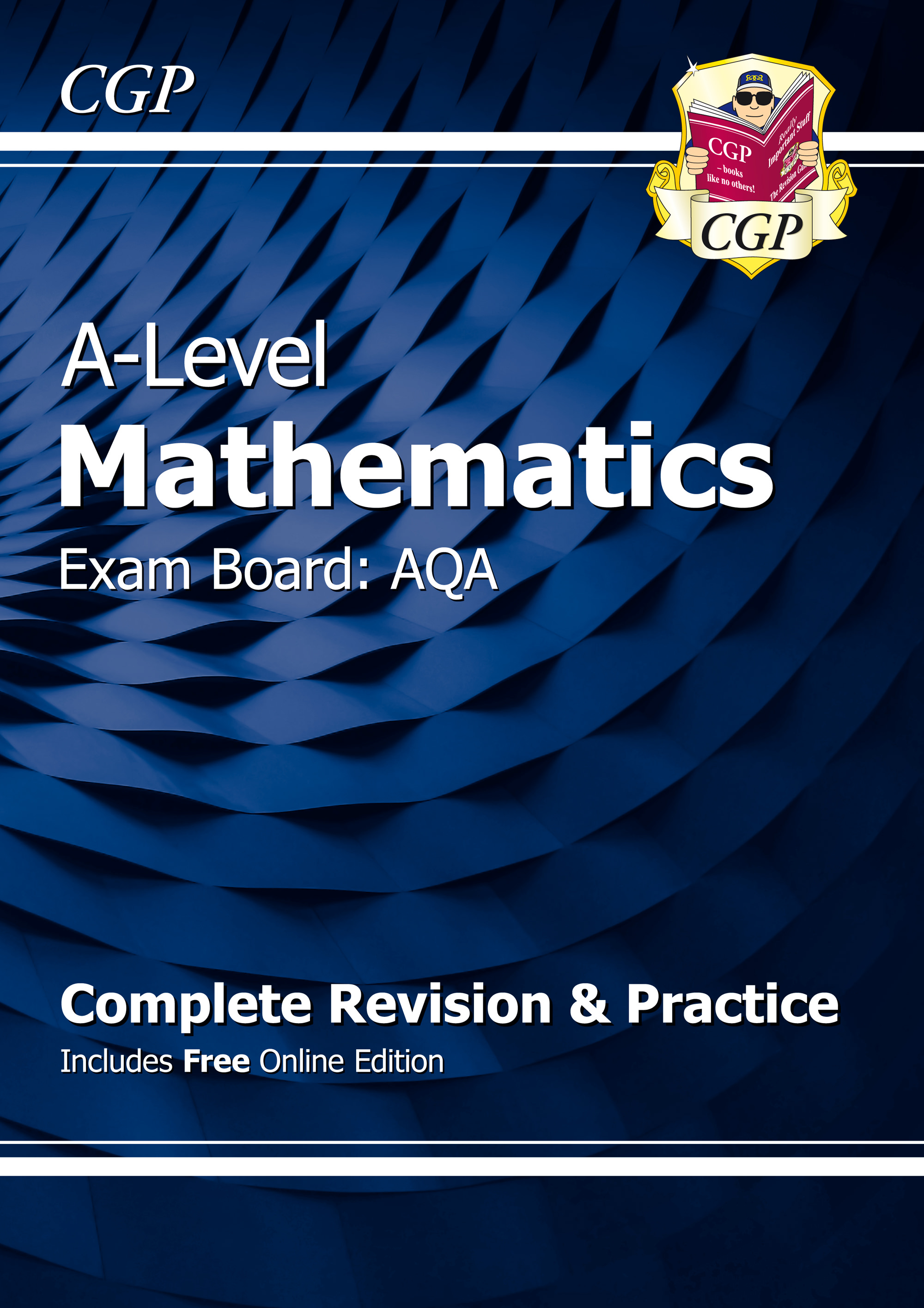 MAHR71 - A-Level Maths for AQA: Year 1 & 2 Complete Revision & Practice with Online Edition