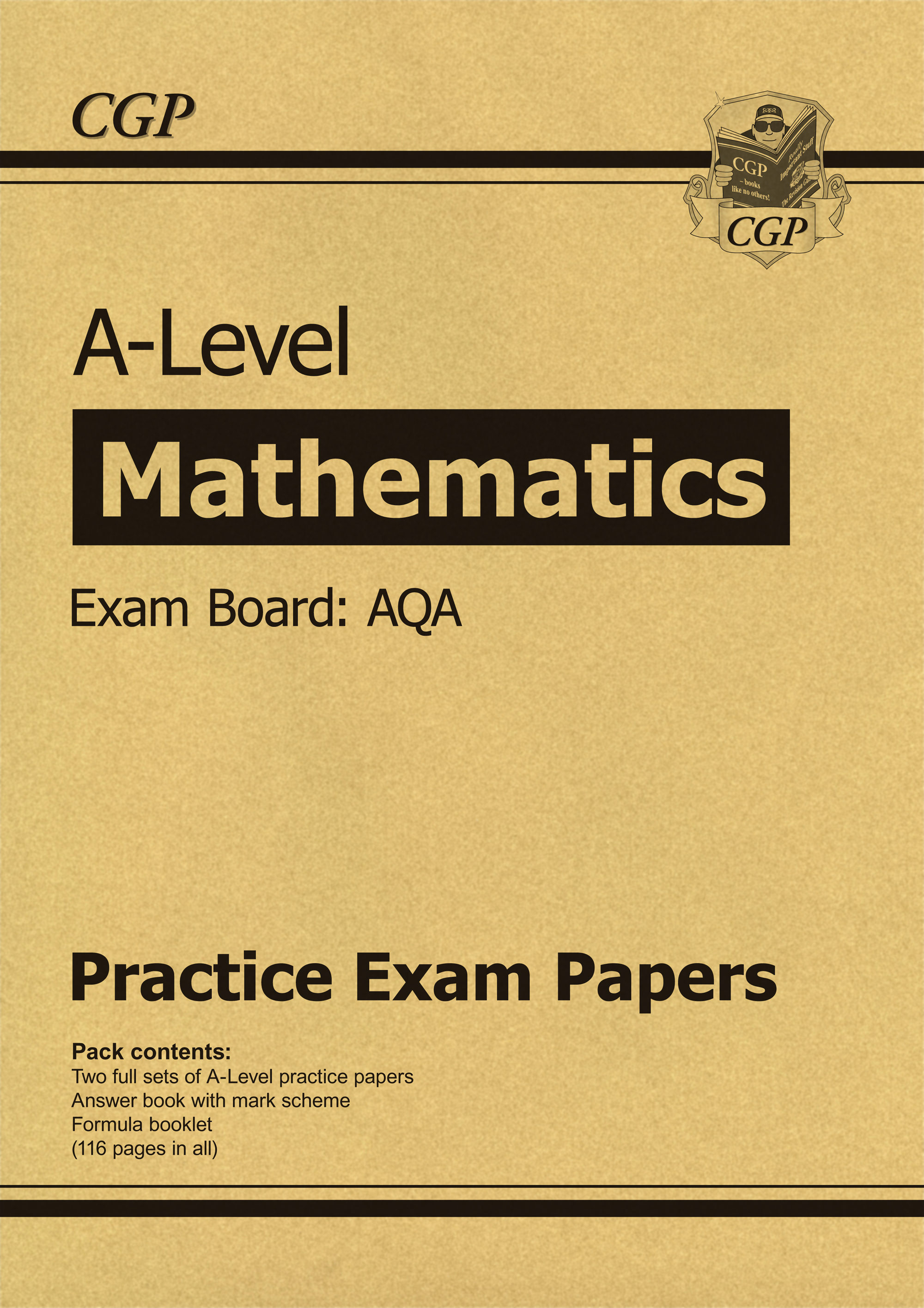 MAP71 - New A-Level Maths AQA Practice Papers (for the exams in 2020)