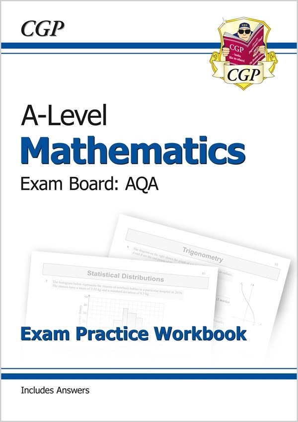 New A-Level Maths for AQA: Year 1 & 2 Exam Practice Workbook