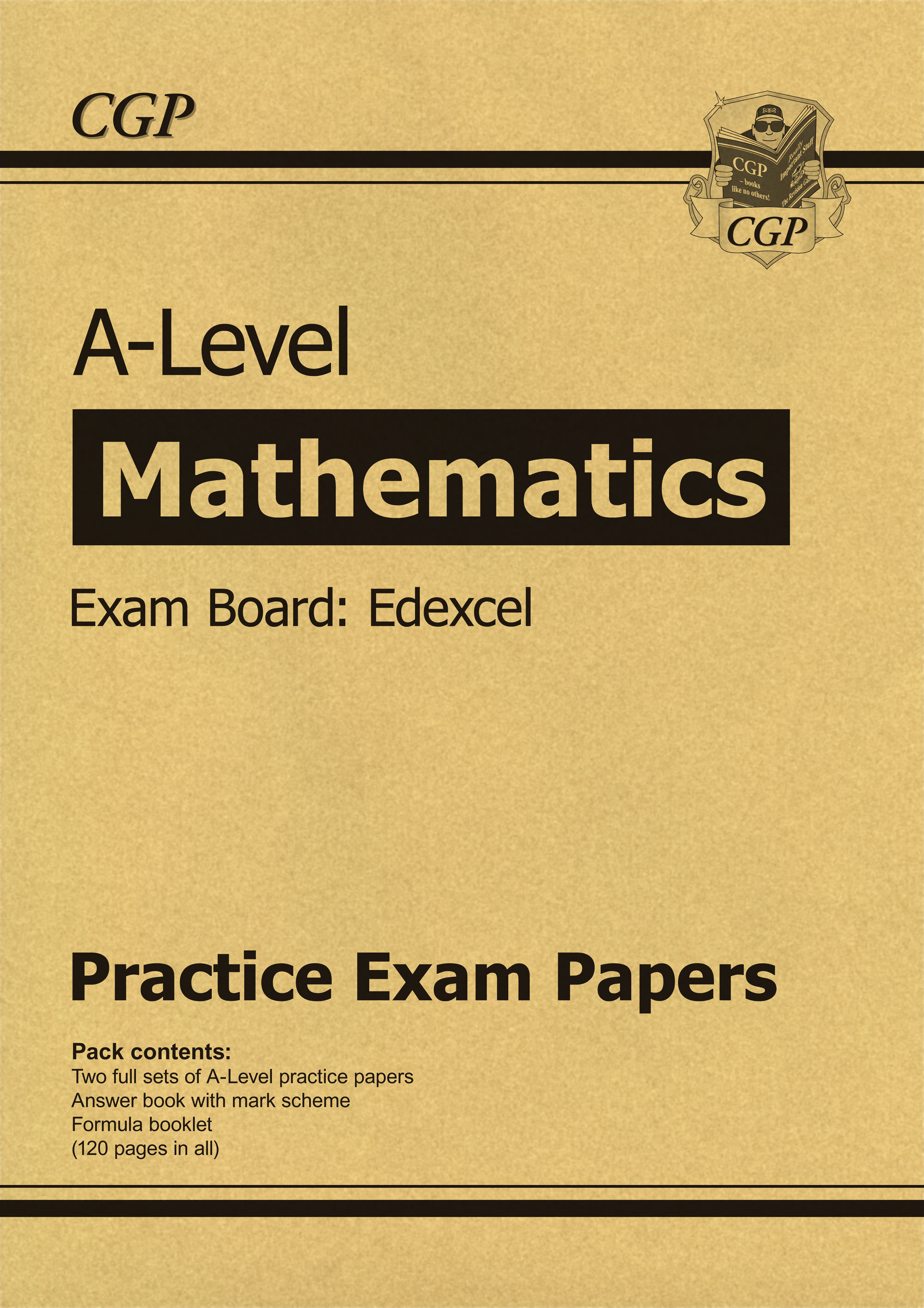 MEP71DK - New A-Level Maths Edexcel Practice Papers (for the exams in 2020)