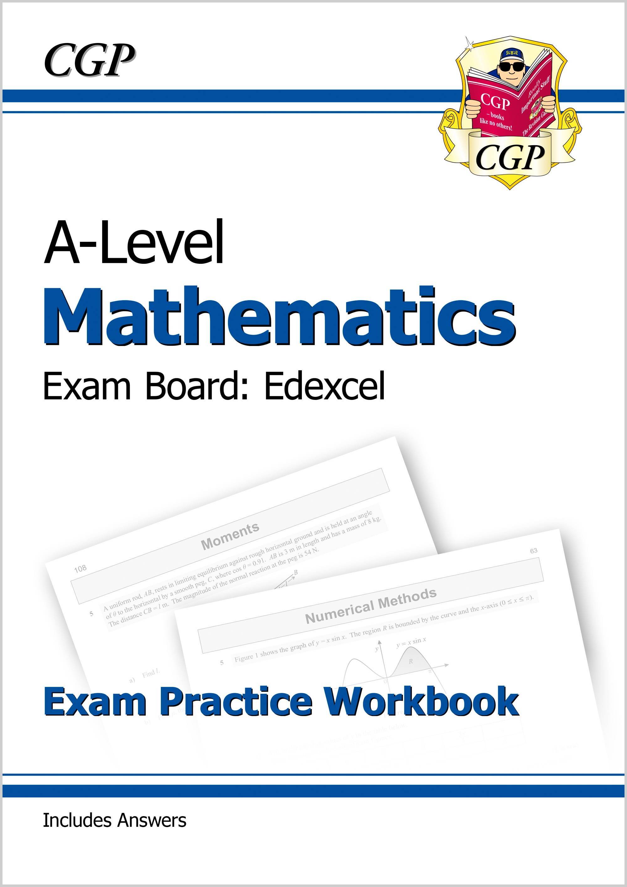 MEQ71DK - New A-Level Maths for Edexcel: Year 1 & 2 Exam Practice Workbook