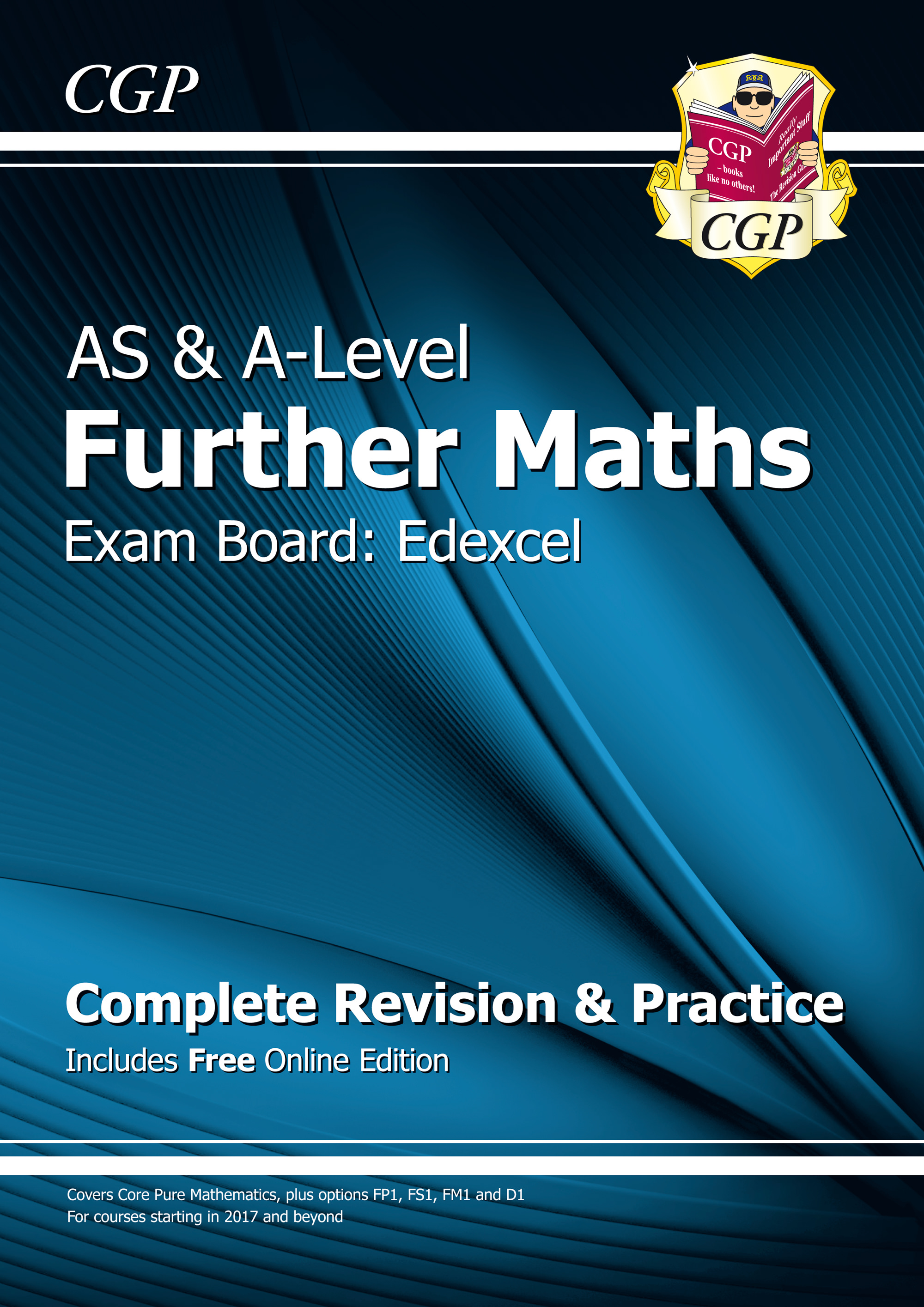 MFER71 - AS & A-Level Further Maths for Edexcel: Complete Revision & Practice with Online Edition