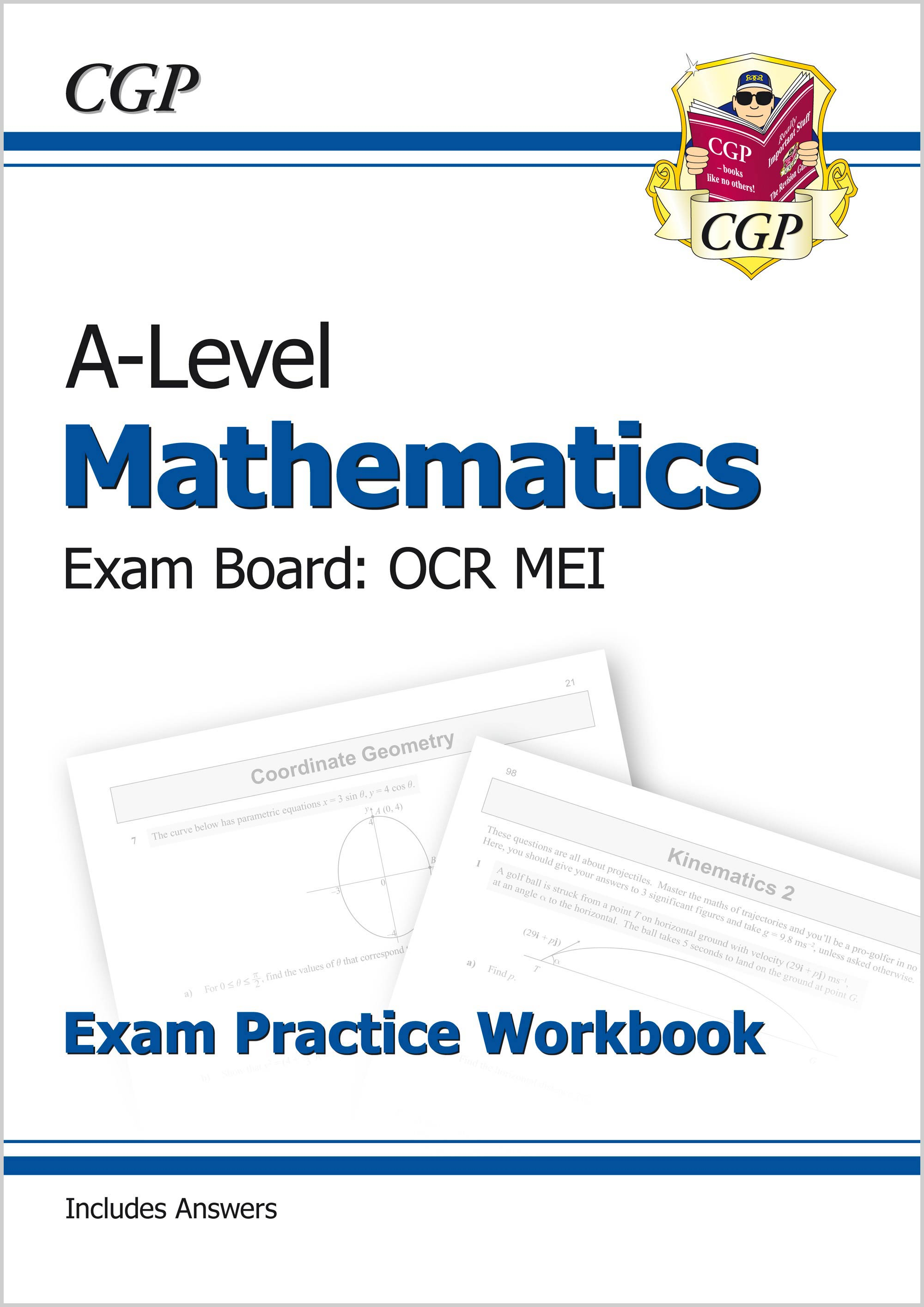 MRMQ71 - A-Level Maths for OCR MEI: Year 1 & 2 Exam Practice Workbook
