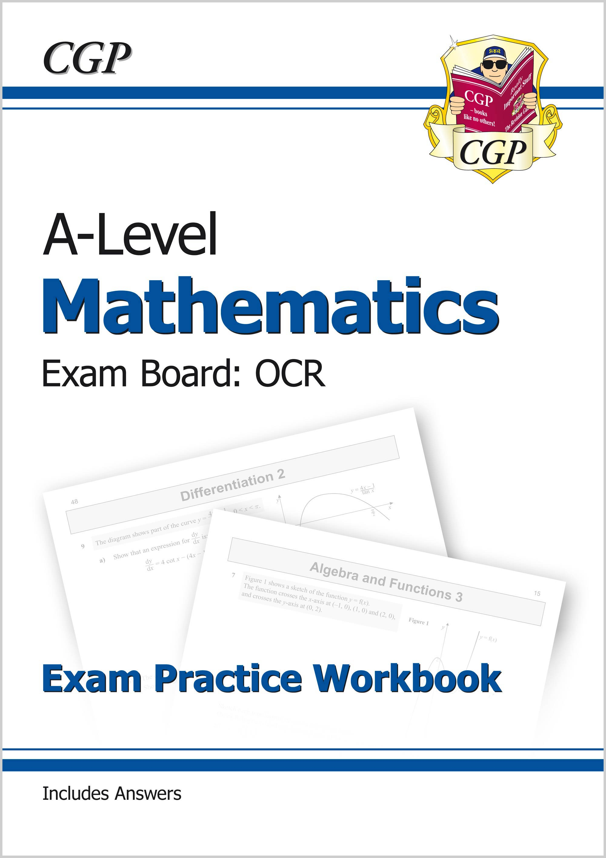 MRQ71 - A-Level Maths for OCR: Year 1 & 2 Exam Practice Workbook