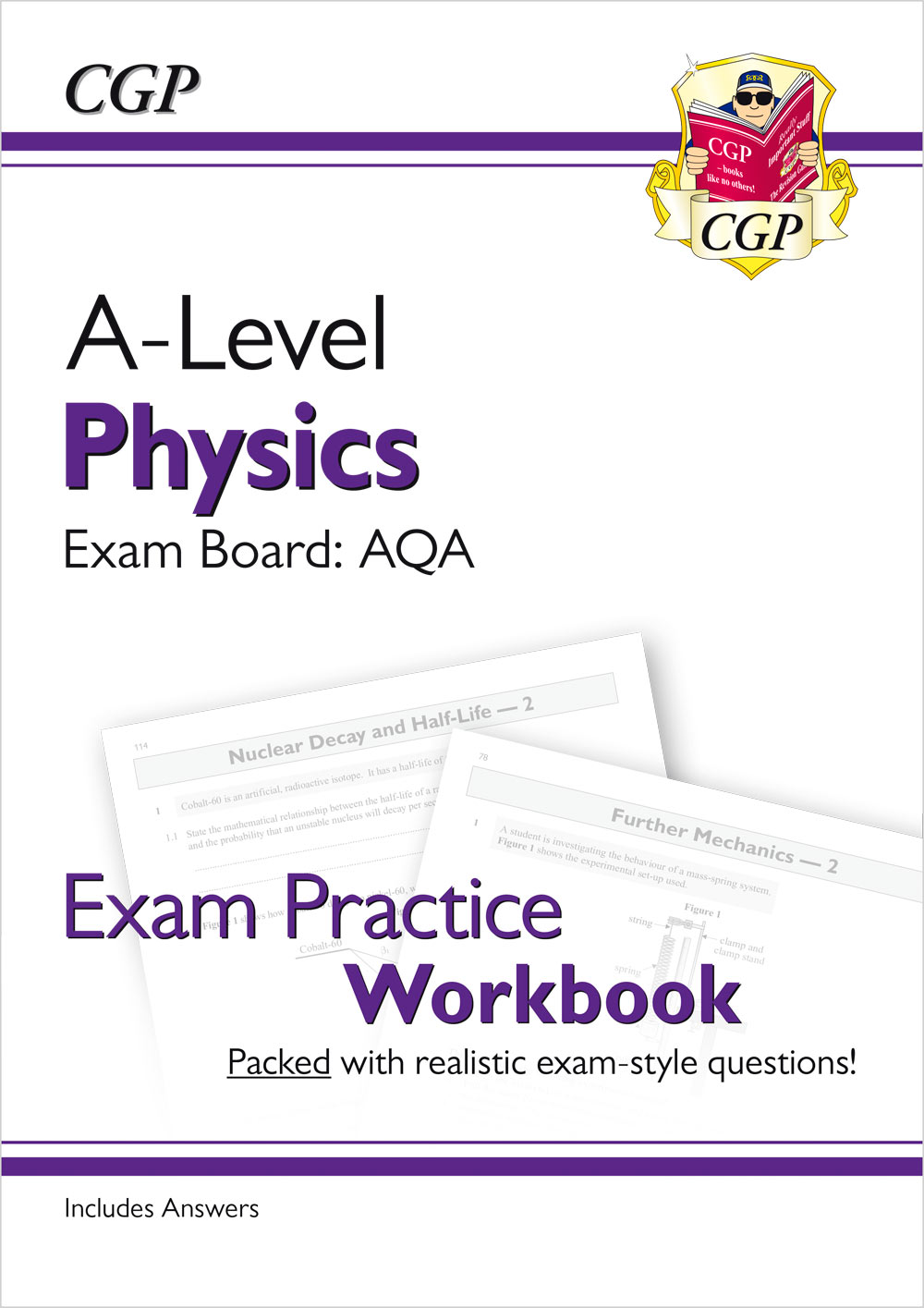PAQ71 - New A-Level Physics: AQA Year 1 & 2 Exam Practice Workbook - includes Answers