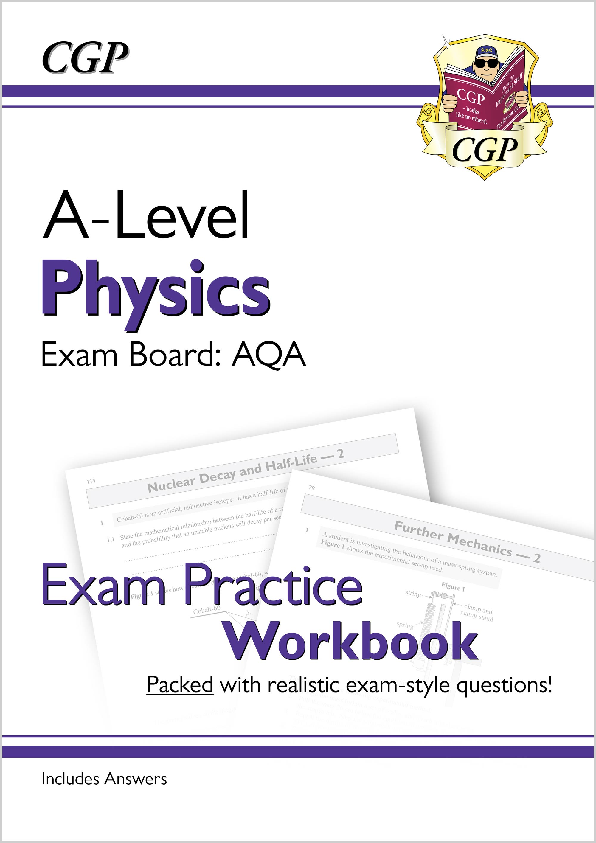 PAQ71D - New A-Level Physics: AQA Year 1 & 2 Exam Practice Workbook - includes Answers Online Editio