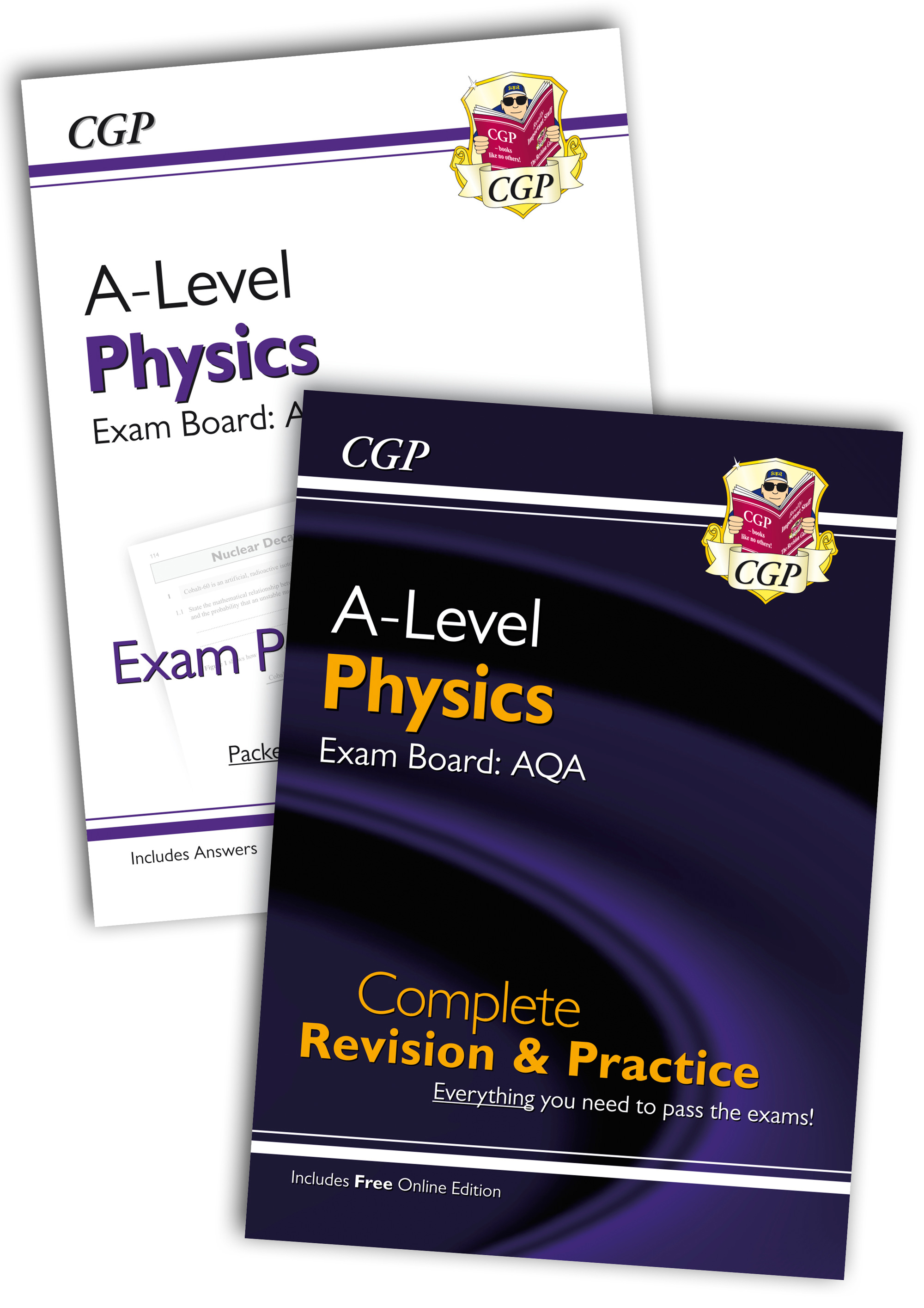 PARQB71 - New Complete Revision and Exam Practice A-Level Physics Bundle: AQA Year 1 & 2