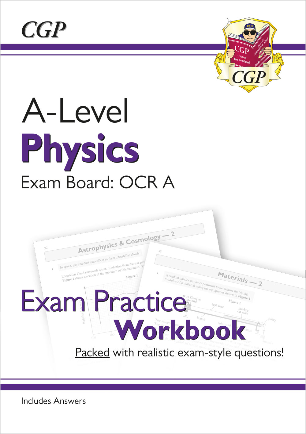 PRAQ71 - New A-Level Physics: OCR A Year 1 & 2 Exam Practice Workbook - includes Answers