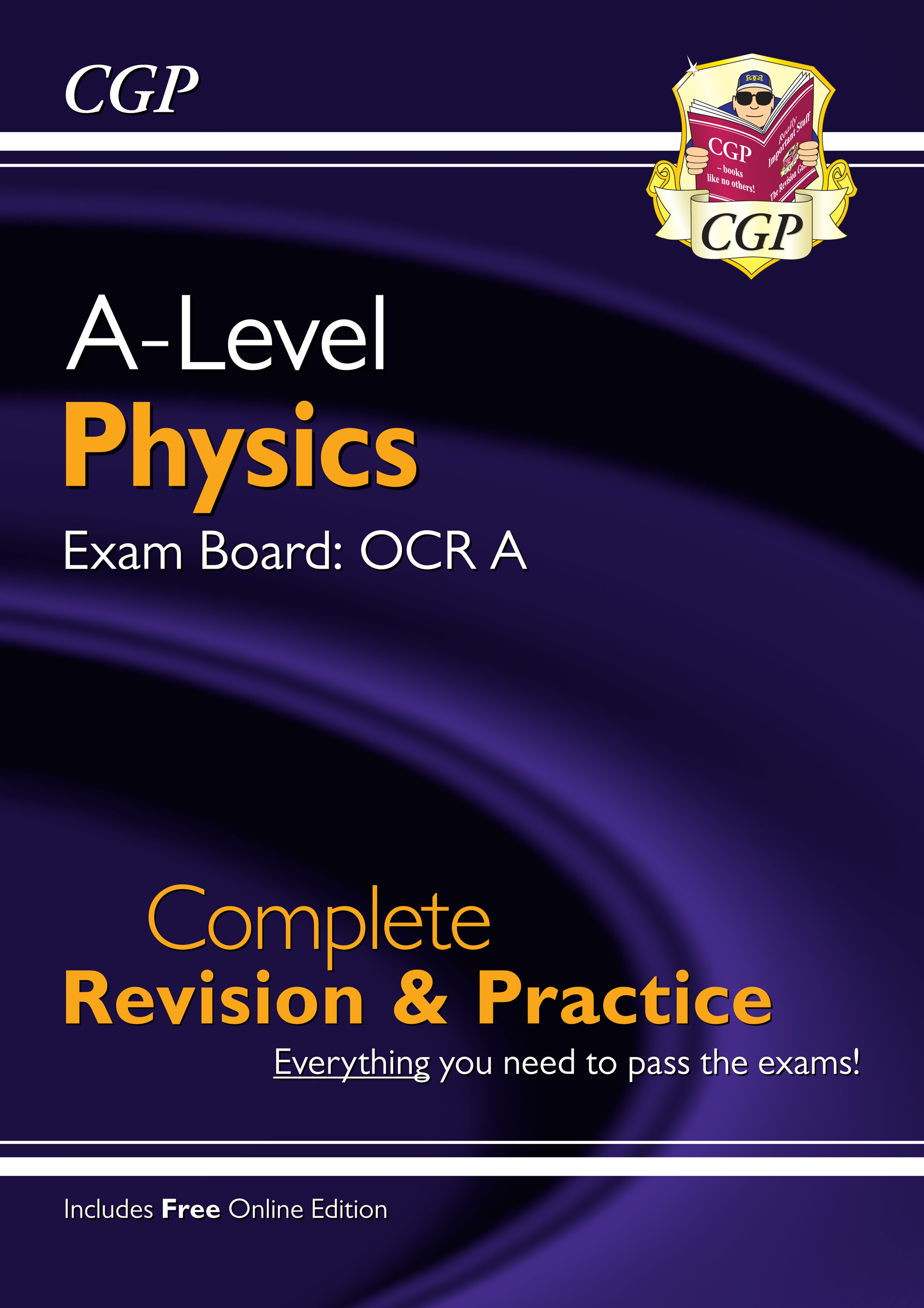 PRAR73 - New A-Level Physics: OCR A Year 1 & 2 Complete Revision & Practice with Online Edition