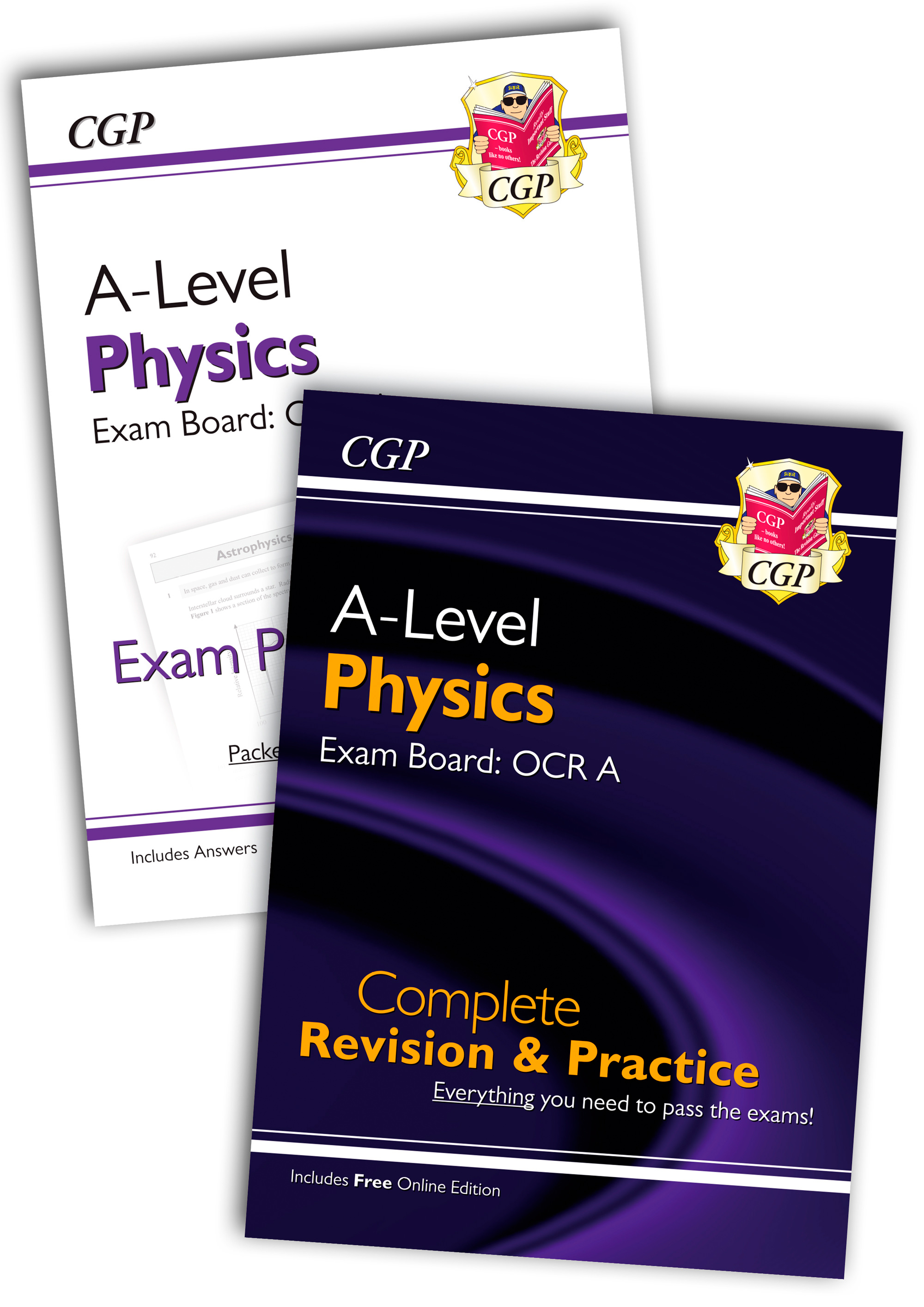 PRARQB71 - New Complete Revision and Exam Practice A-Level Physics Bundle: OCR A Year 1 & 2