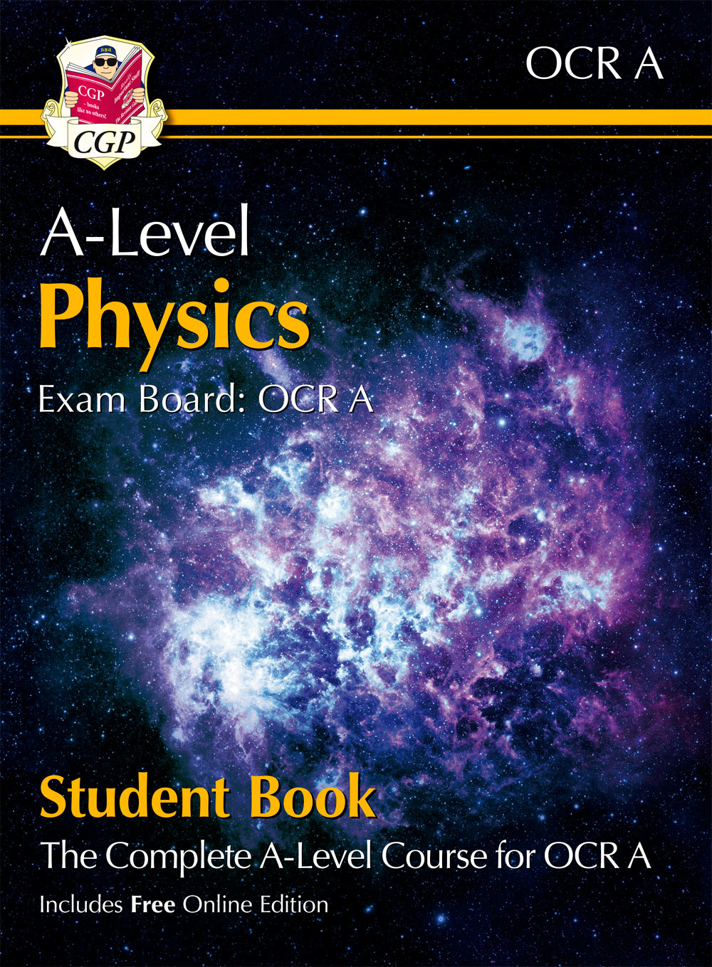 PRATB72 - New A-Level Physics for OCR A: Year 1 & 2 Student Book with Online Edition