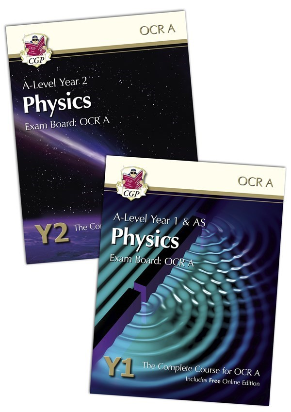 PRATBB71 - New A-Level Physics for OCR A Student Book Bundle: Year 1 & 2  (with Online Editions)