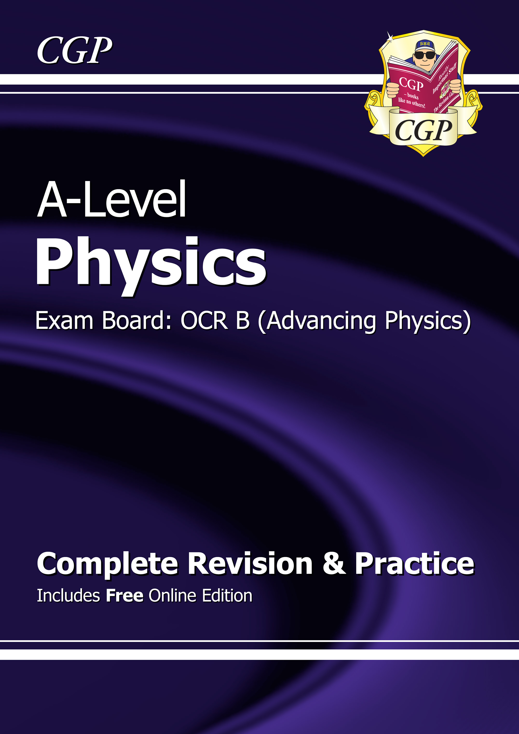 PRBR72 - A-Level Physics: OCR B Year 1 & 2 Complete Revision & Practice with Online Edition