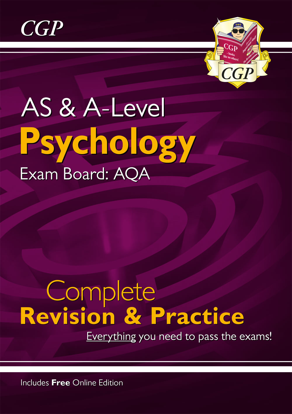 PYAR74 - AS and A-Level Psychology: AQA Complete Revision & Practice with Online Edition