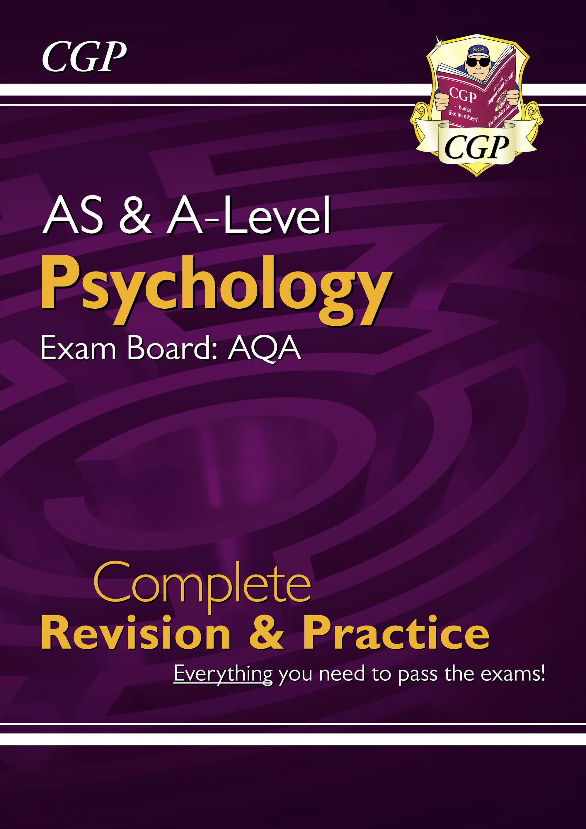 PYAR74DK - AS and A-Level Psychology: AQA Complete Revision & Practice