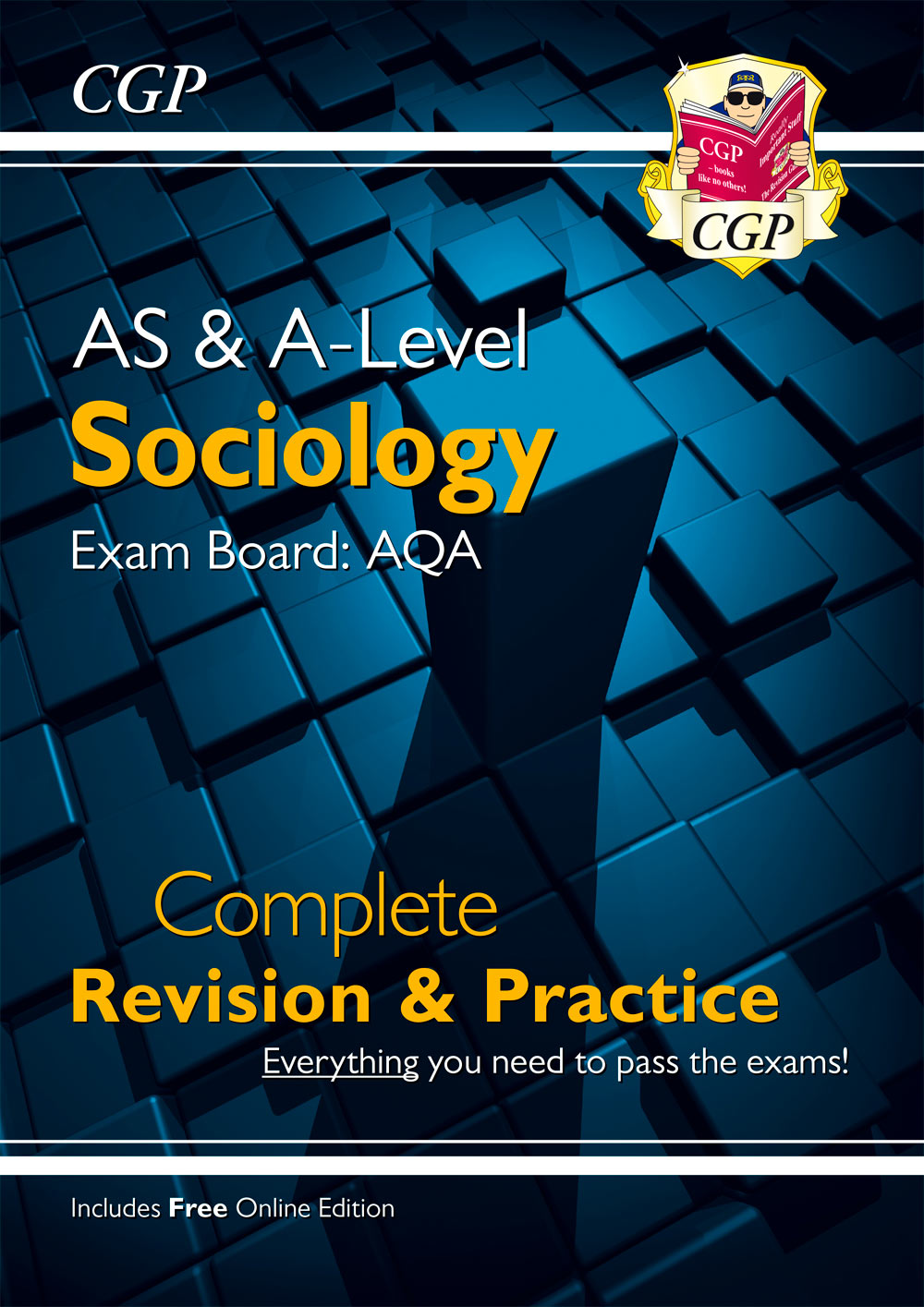 SYAR73 - New AS and A-Level Sociology: AQA Complete Revision & Practice (with Online Edition)