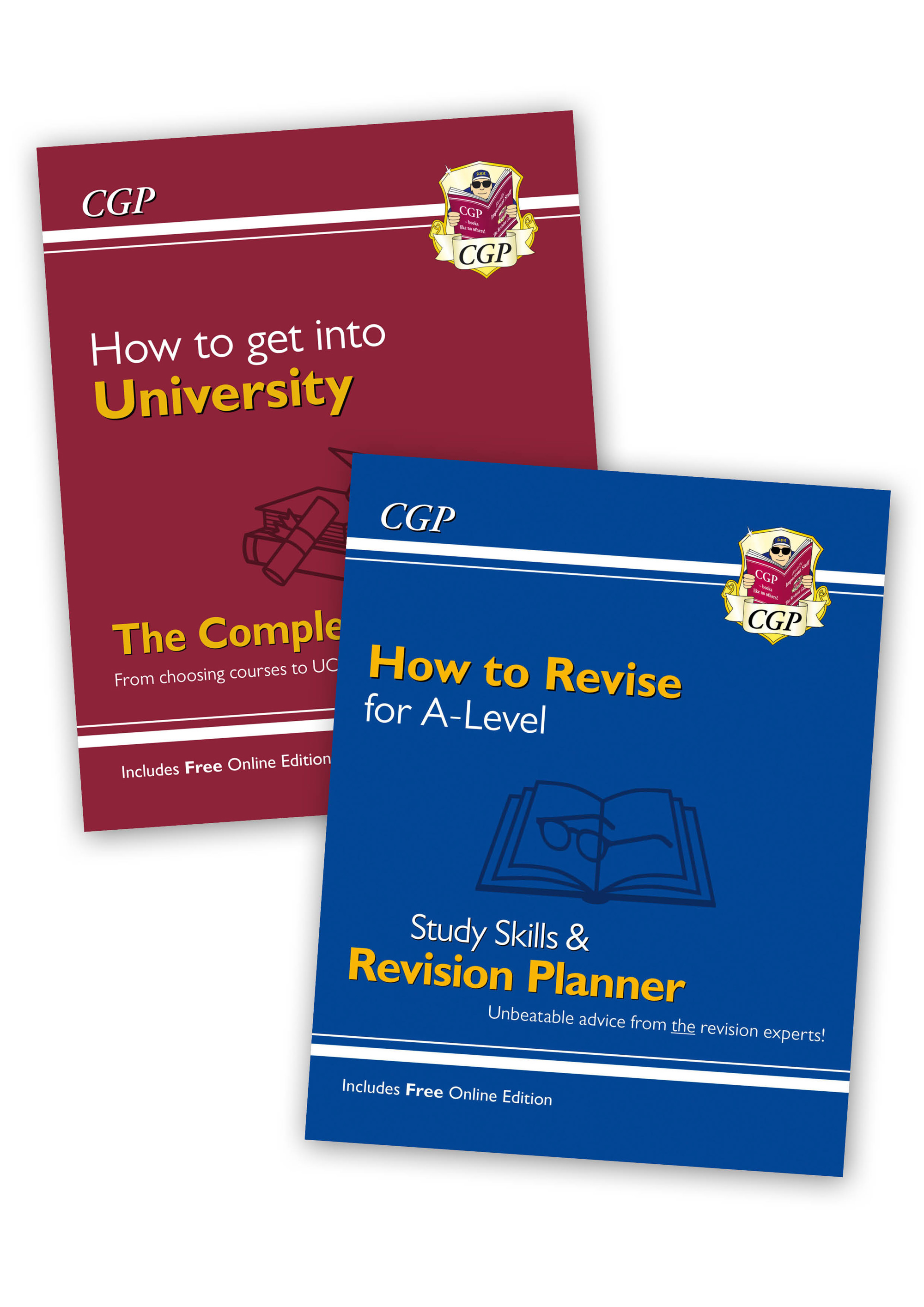 XHRB71 - How to Revise for A-Level and How to get into University - 2 Book Bundle