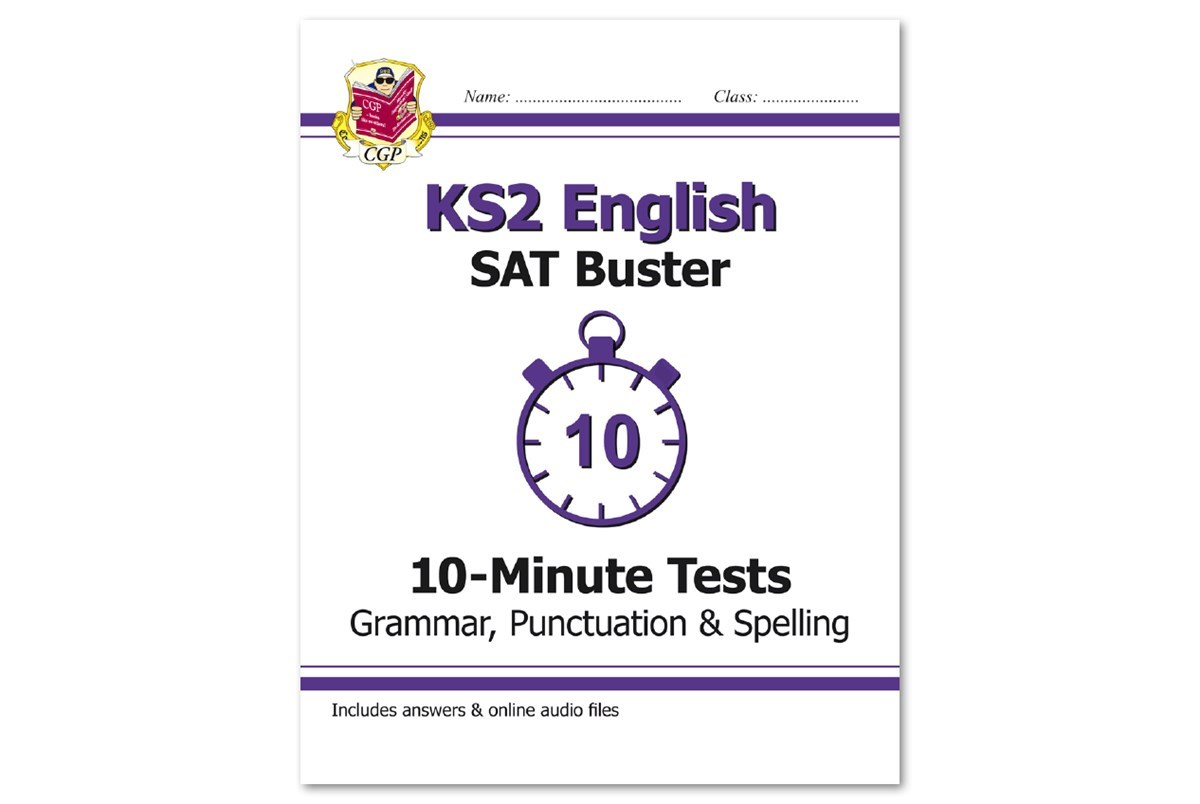 Key Stage Two SAT Buster 10-Minute Tests Audio Files | CGP Books