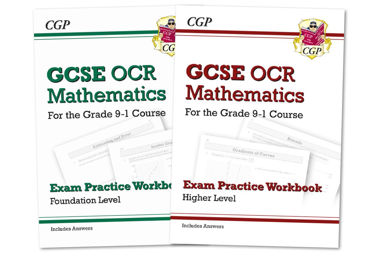 GCSE Maths Exam Practice Workbooks — Practice Paper Worked