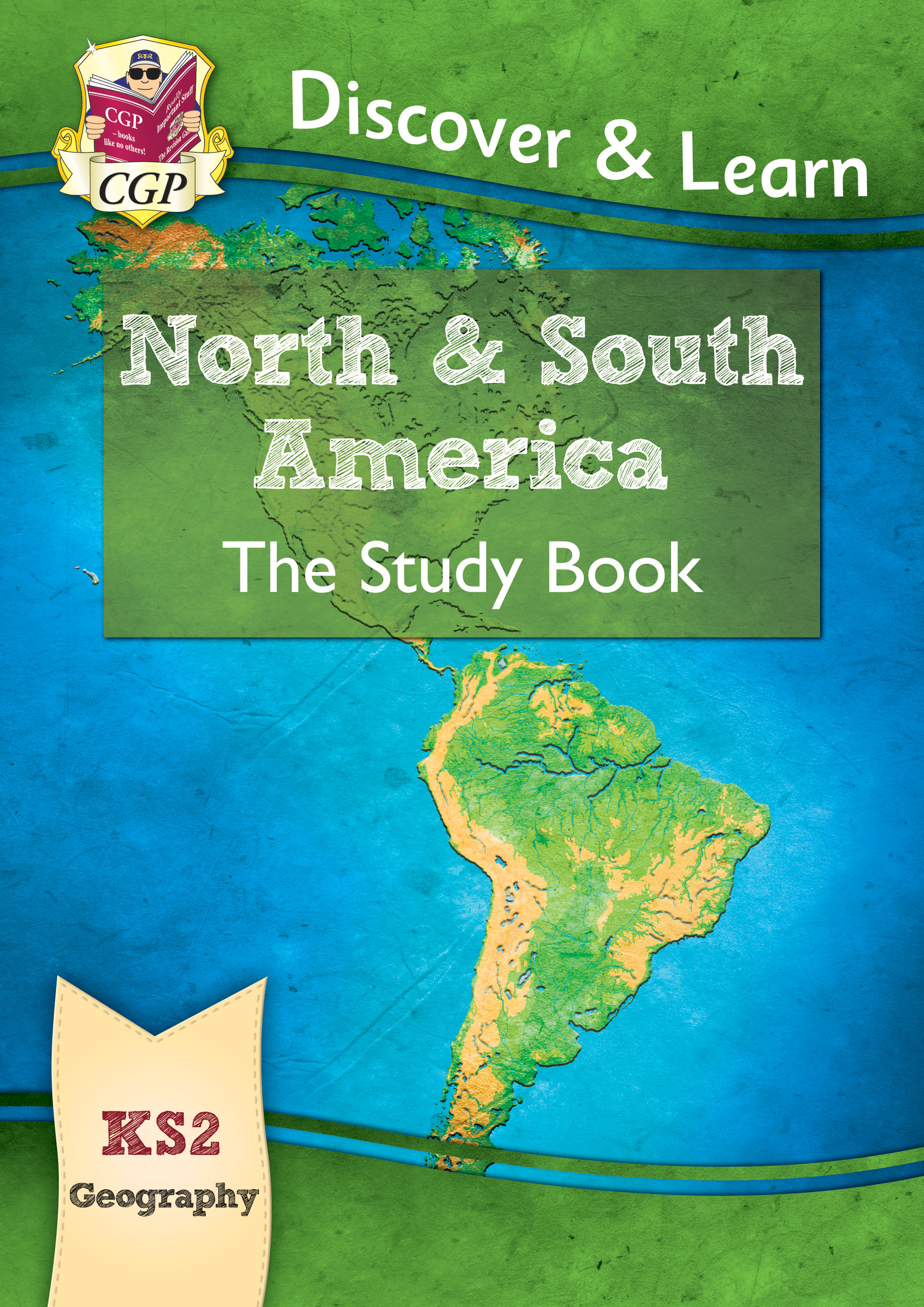 Map Of North America Ks2.New Ks2 Discover Learn Geography North And South America Study