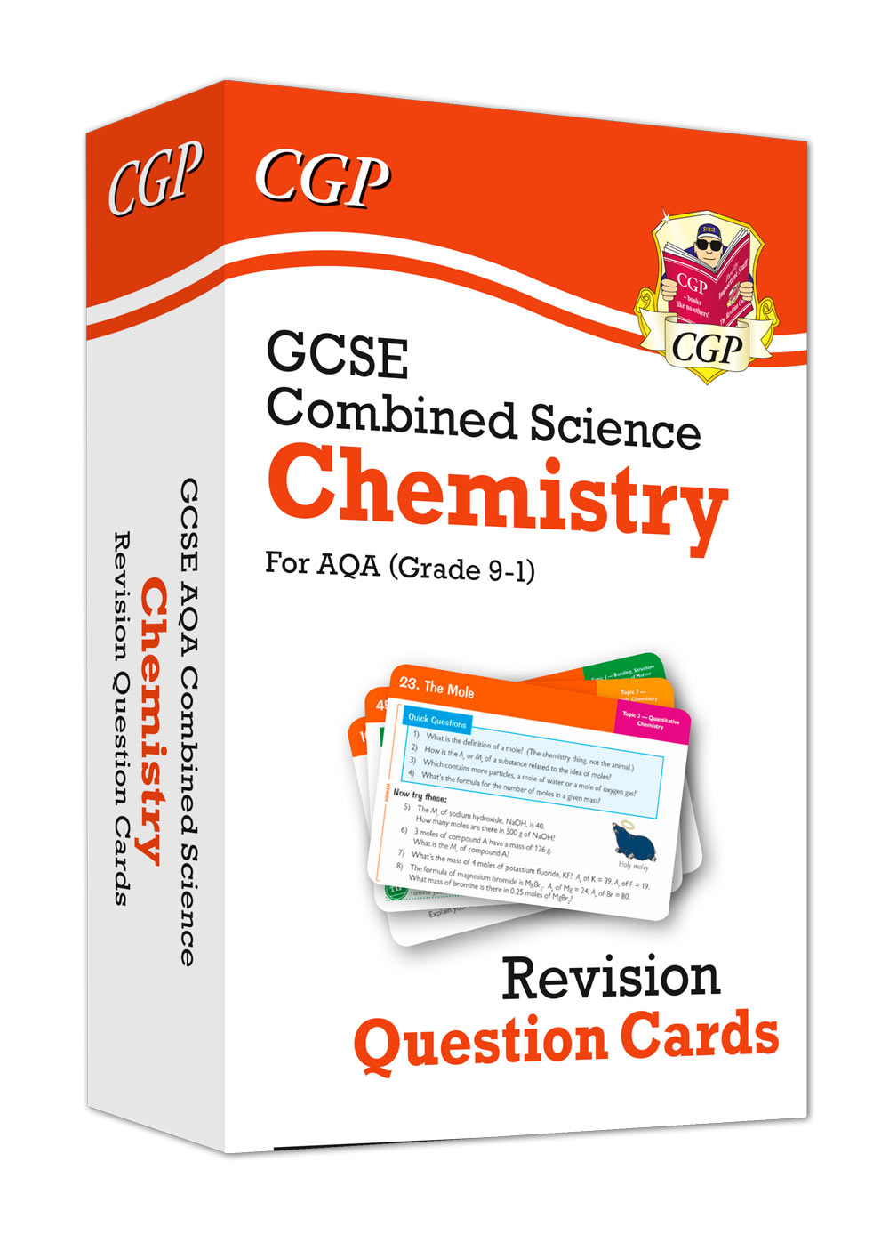 New 9-1 GCSE Combined Science: Chemistry AQA Revision Question Cards