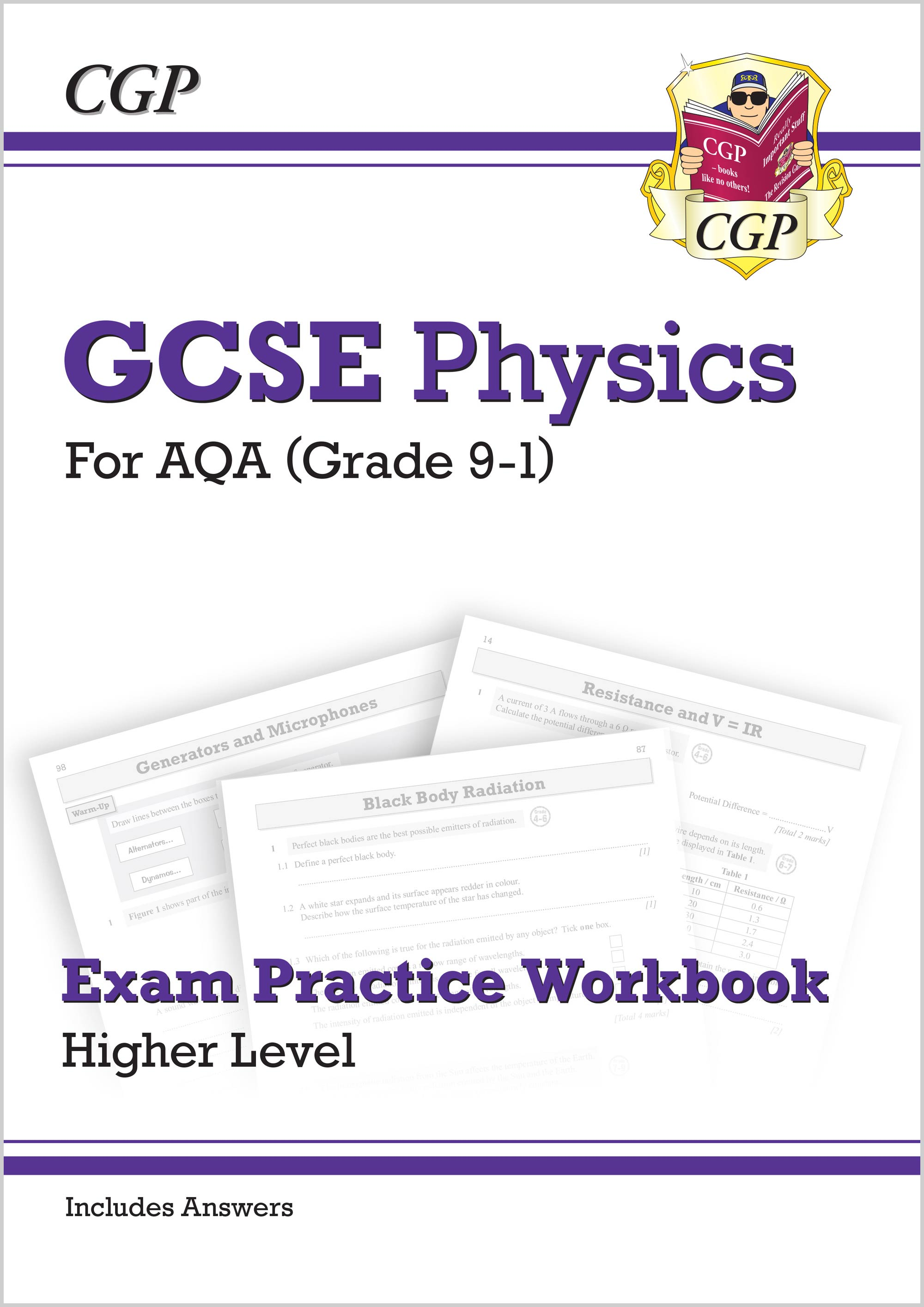 New Grade 9-1 GCSE Physics: AQA Exam Practice Workbook (with answers) -  Higher
