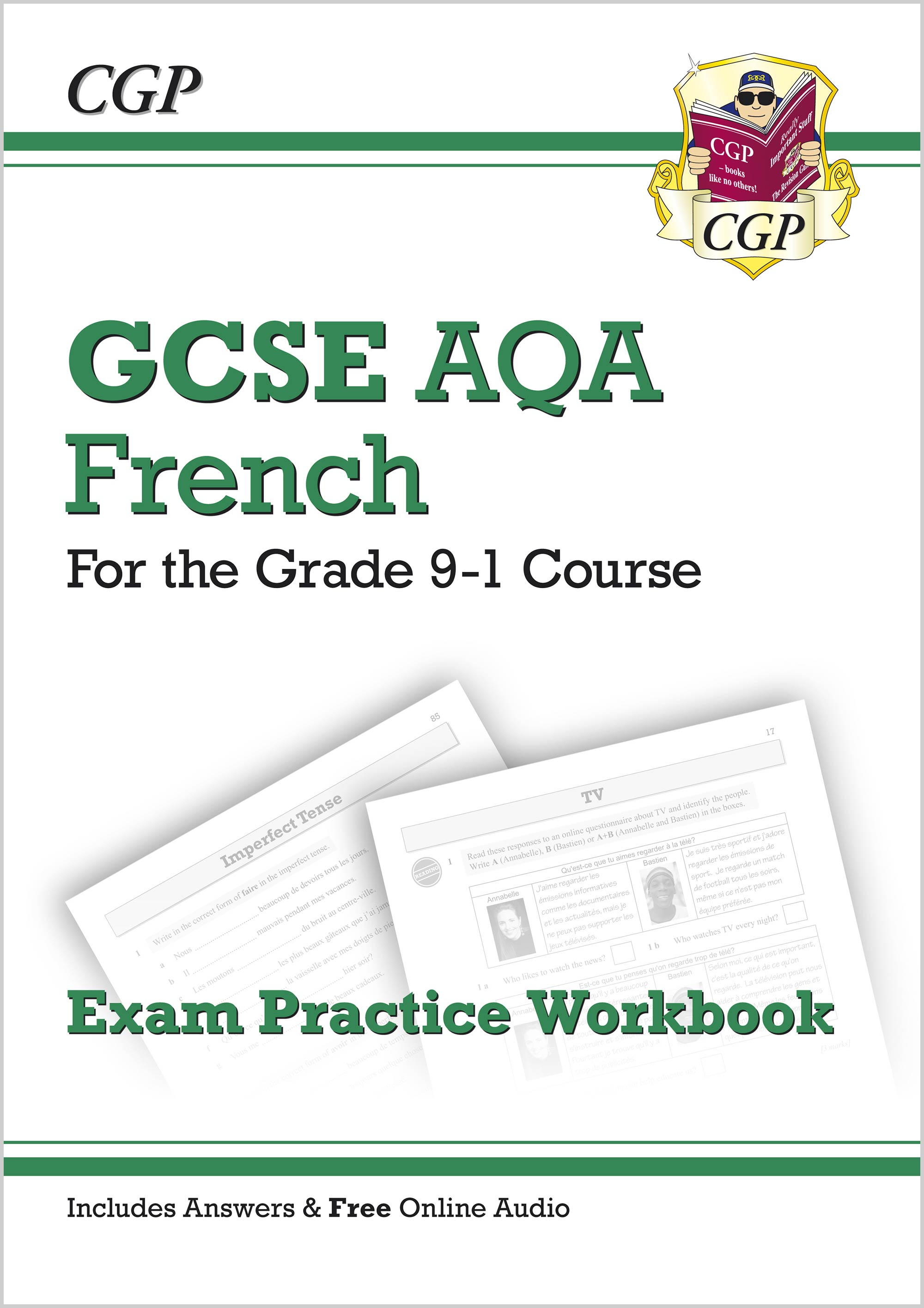 GCSE French AQA Exam Practice Workbook - for the Grade 9-1 Course (includes  Answers)