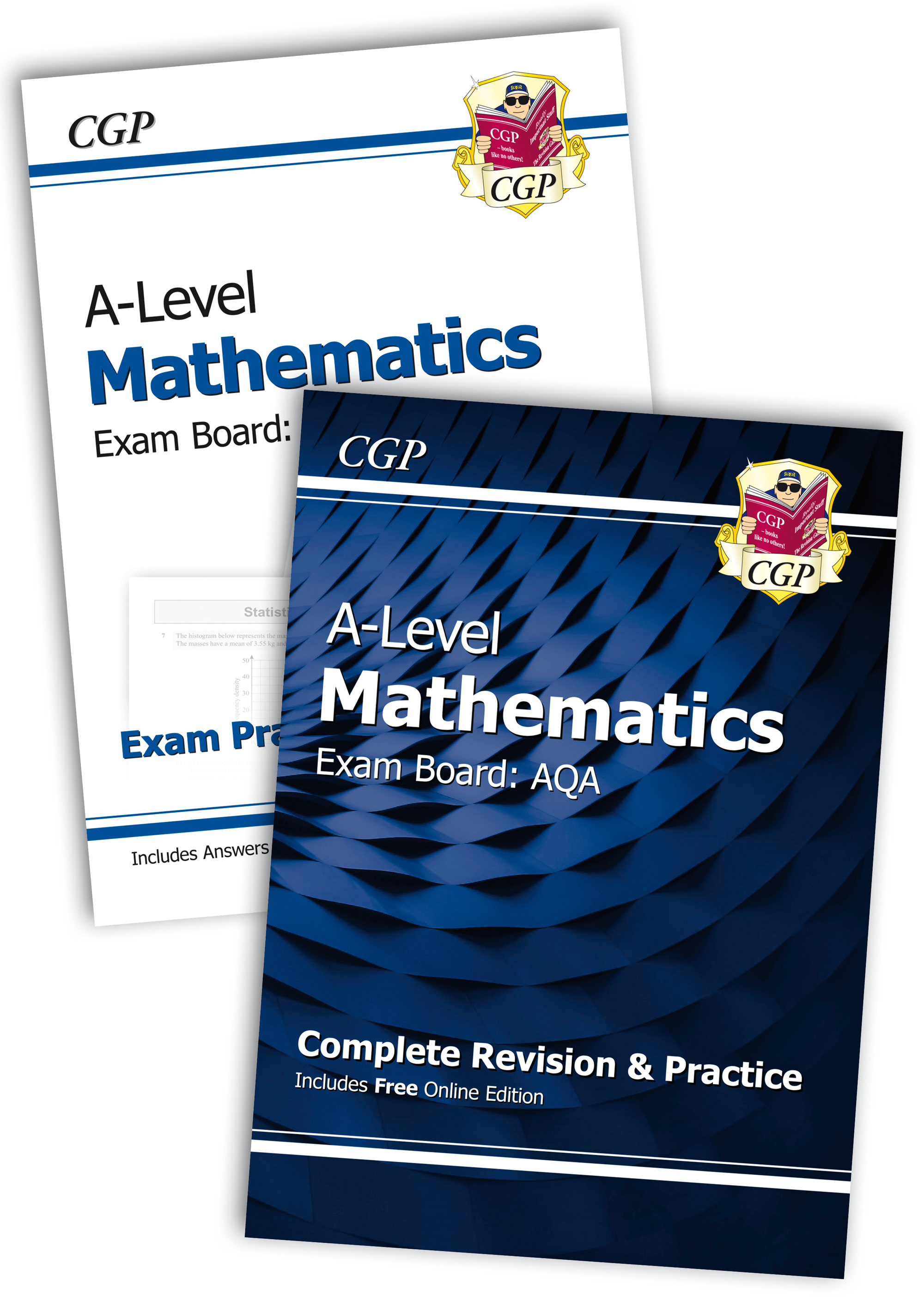 New Complete Revision and Exam Practice A-Level Maths Bundle: AQA Year 1 & 2