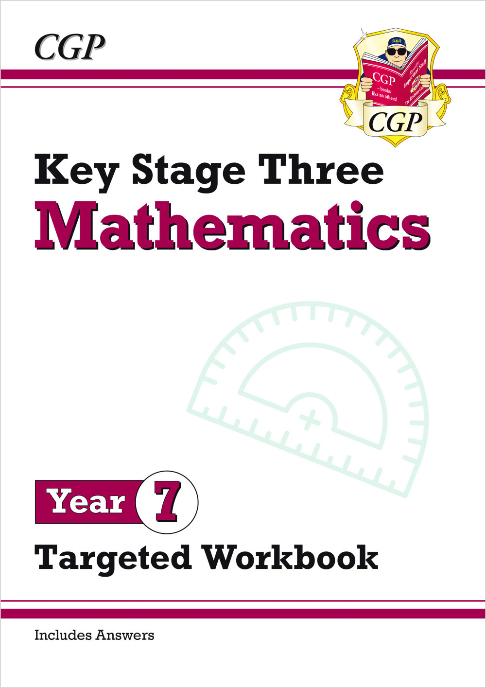 New KS3 Maths Year 7 Targeted Workbook (with answers)   CGP