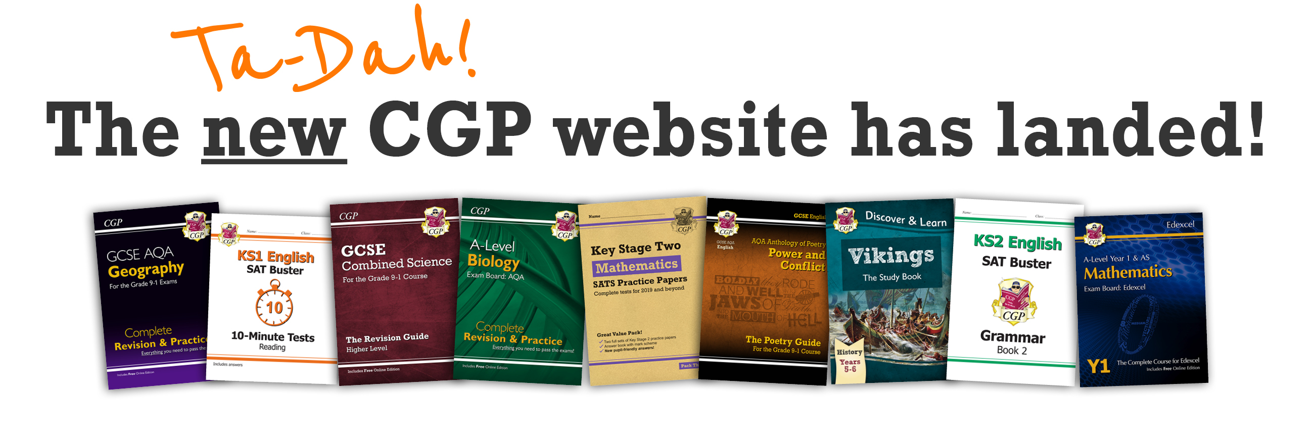 Welcome to the Shiny New CGP Website