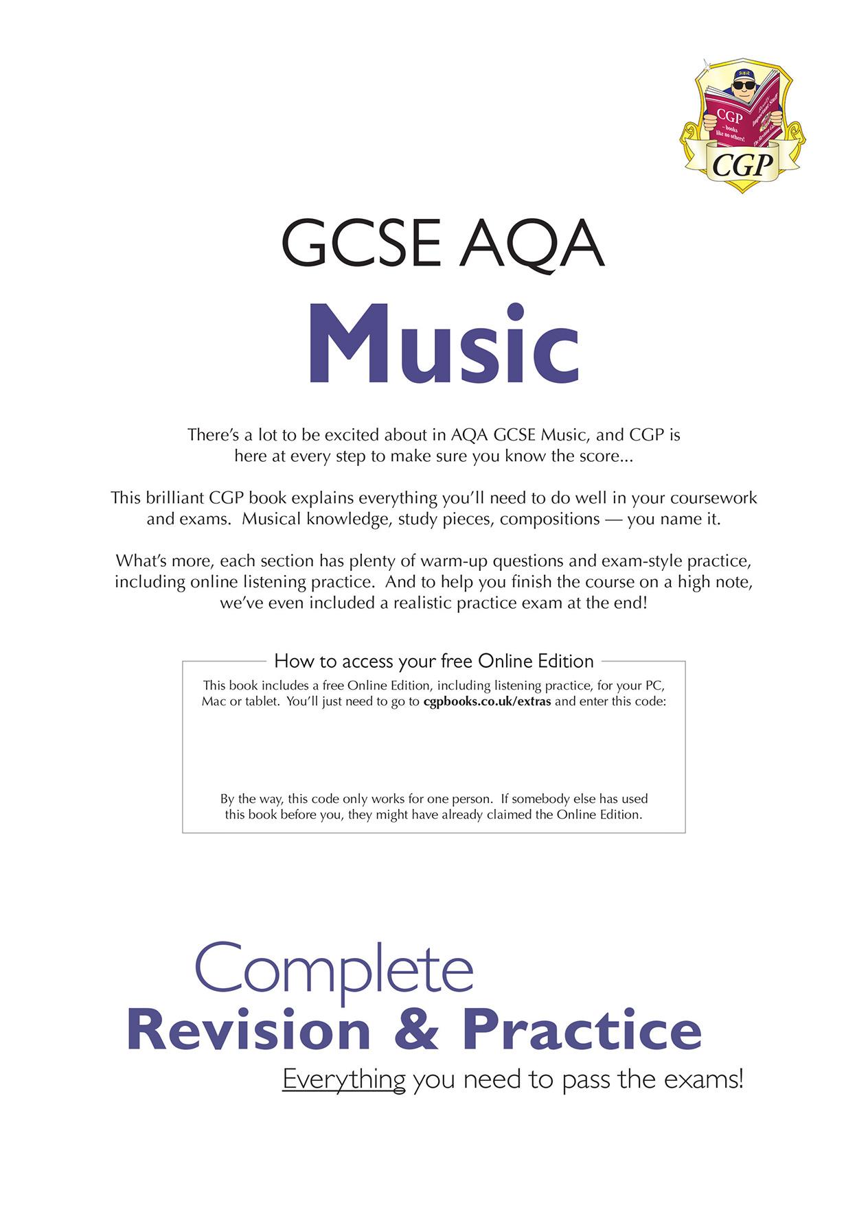 Aqa gcse music coursework fire department cover letter templates