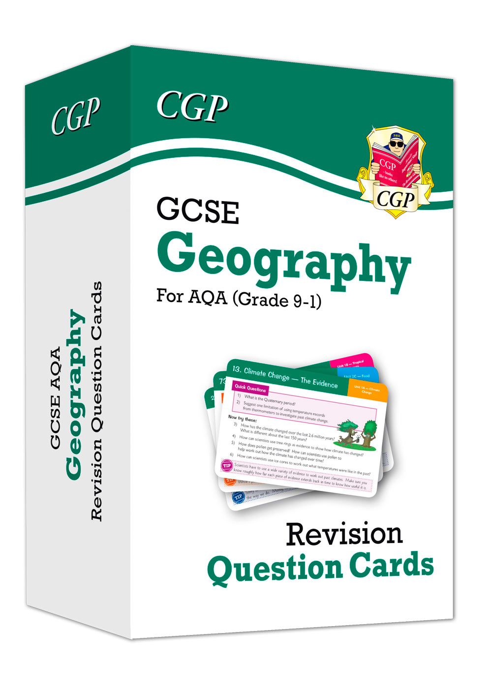 New Grade 9-1 GCSE Geography AQA Revision Question Cards