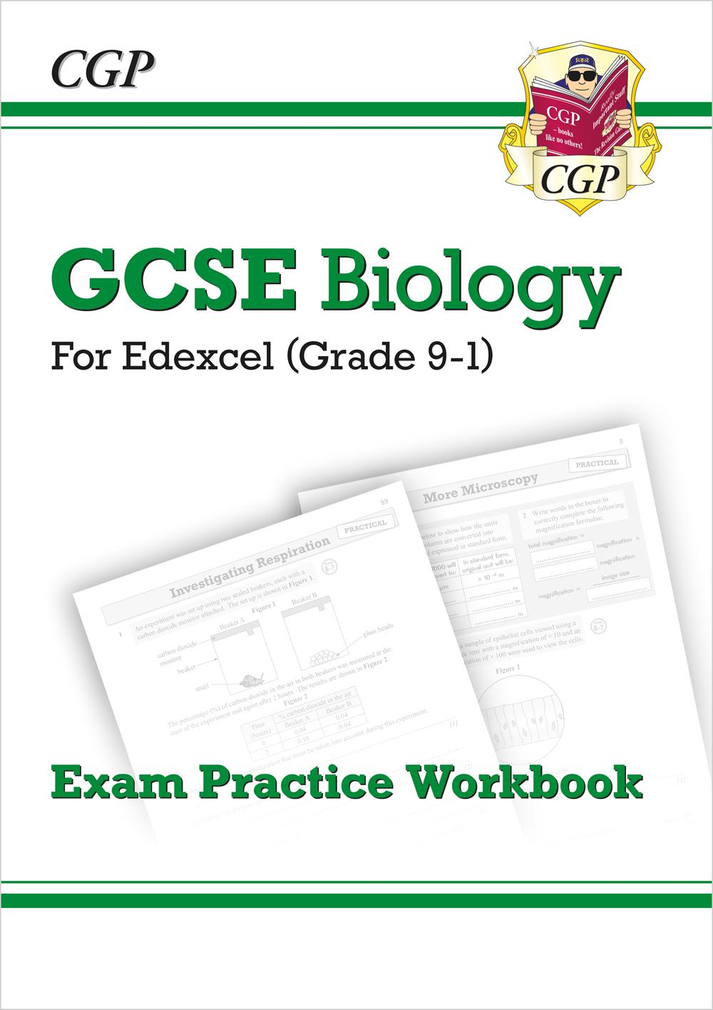 Grade 9-1 GCSE Biology: Edexcel Exam Practice Workbook