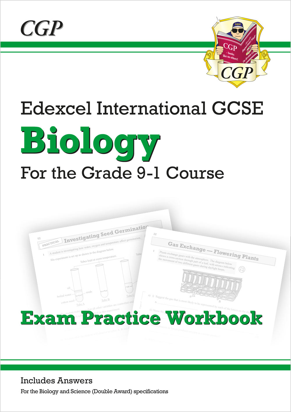 New Grade 9-1 Edexcel International GCSE Biology: Exam Practice Workbook  (includes Answers)