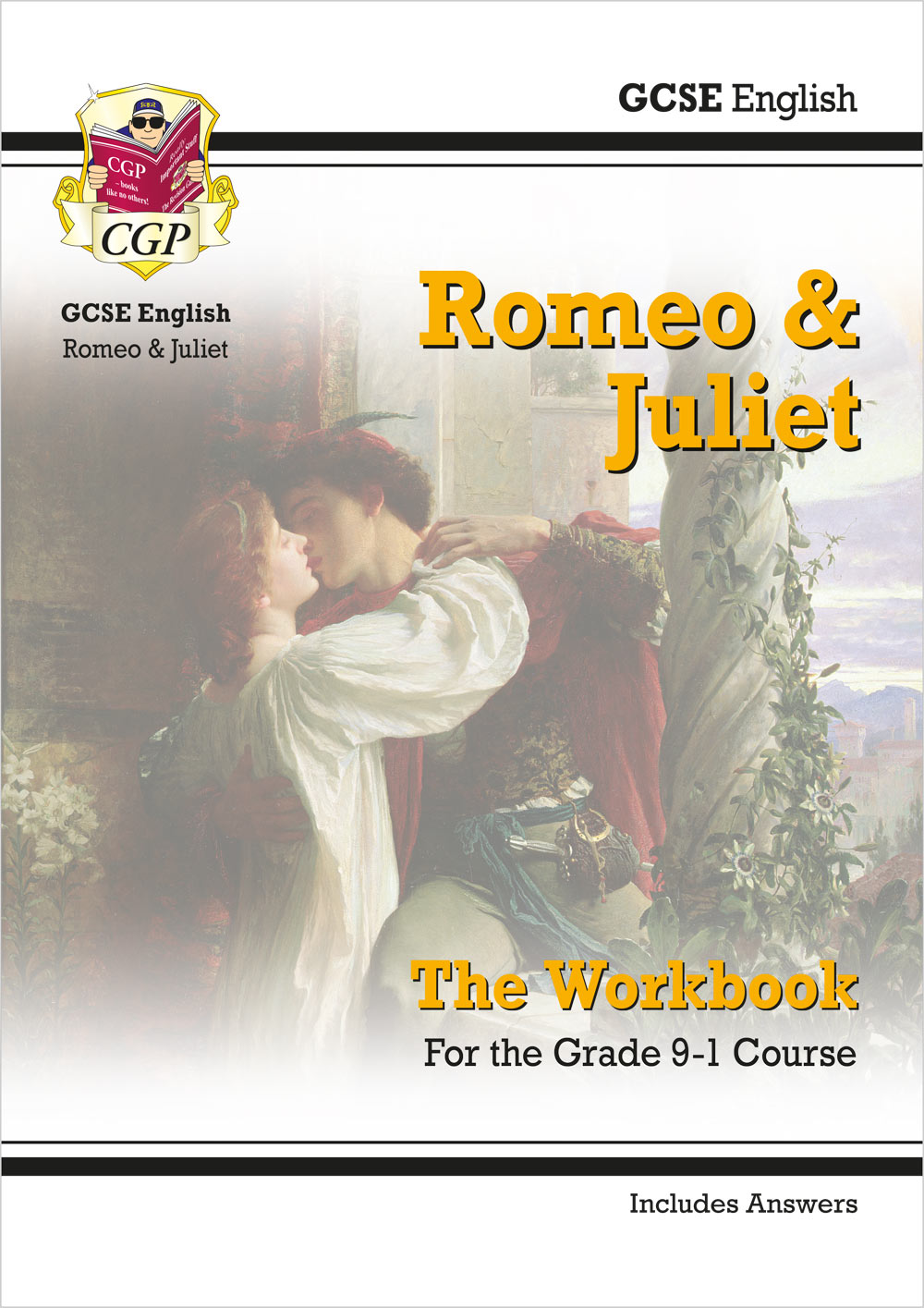New Grade 9-1 GCSE English Shakespeare - Romeo & Juliet Workbook (includes  Answers)