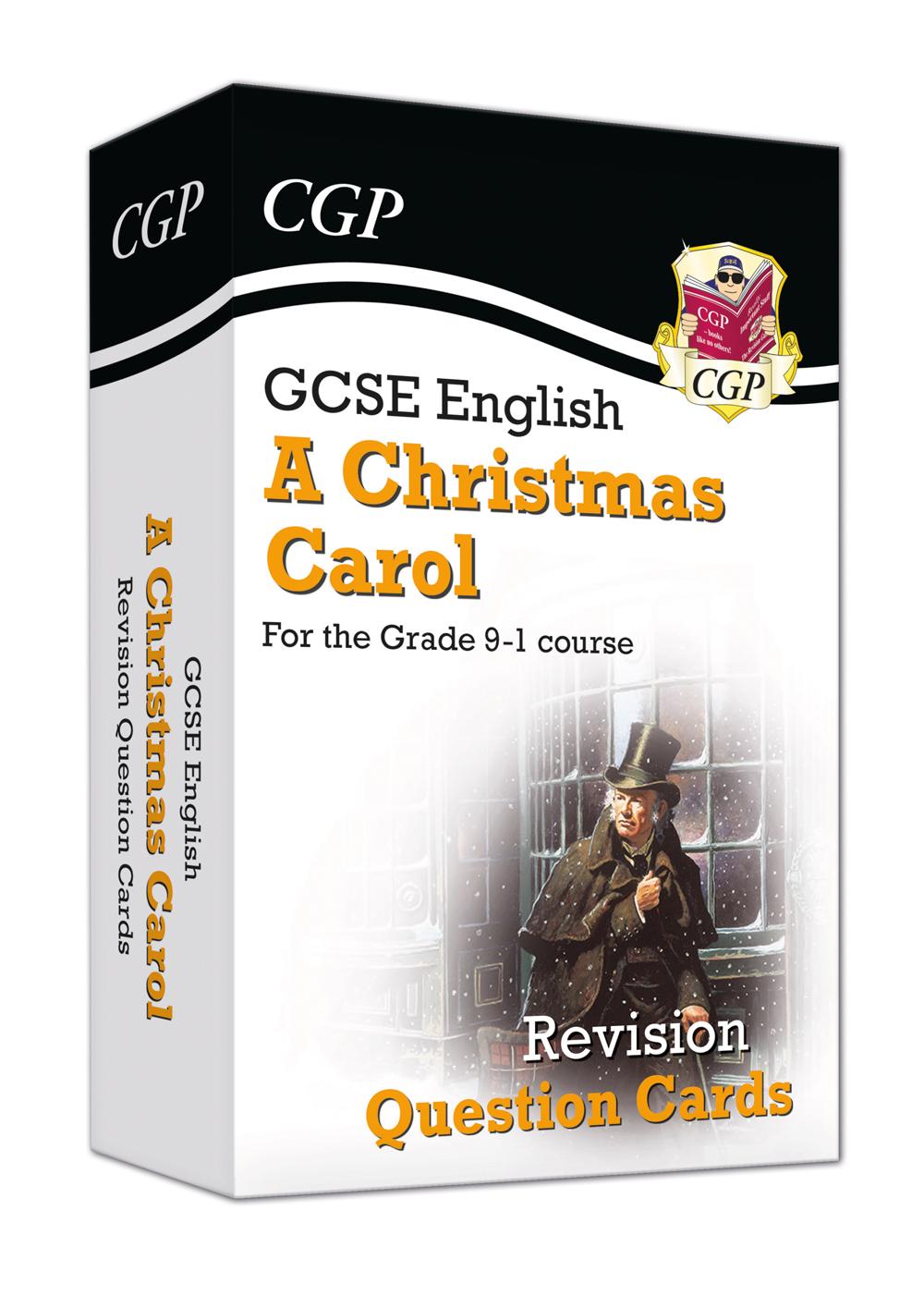 Christmas Carol Text Guide.New Grade 9 1 Gcse English A Christmas Carol Revision Question Cards
