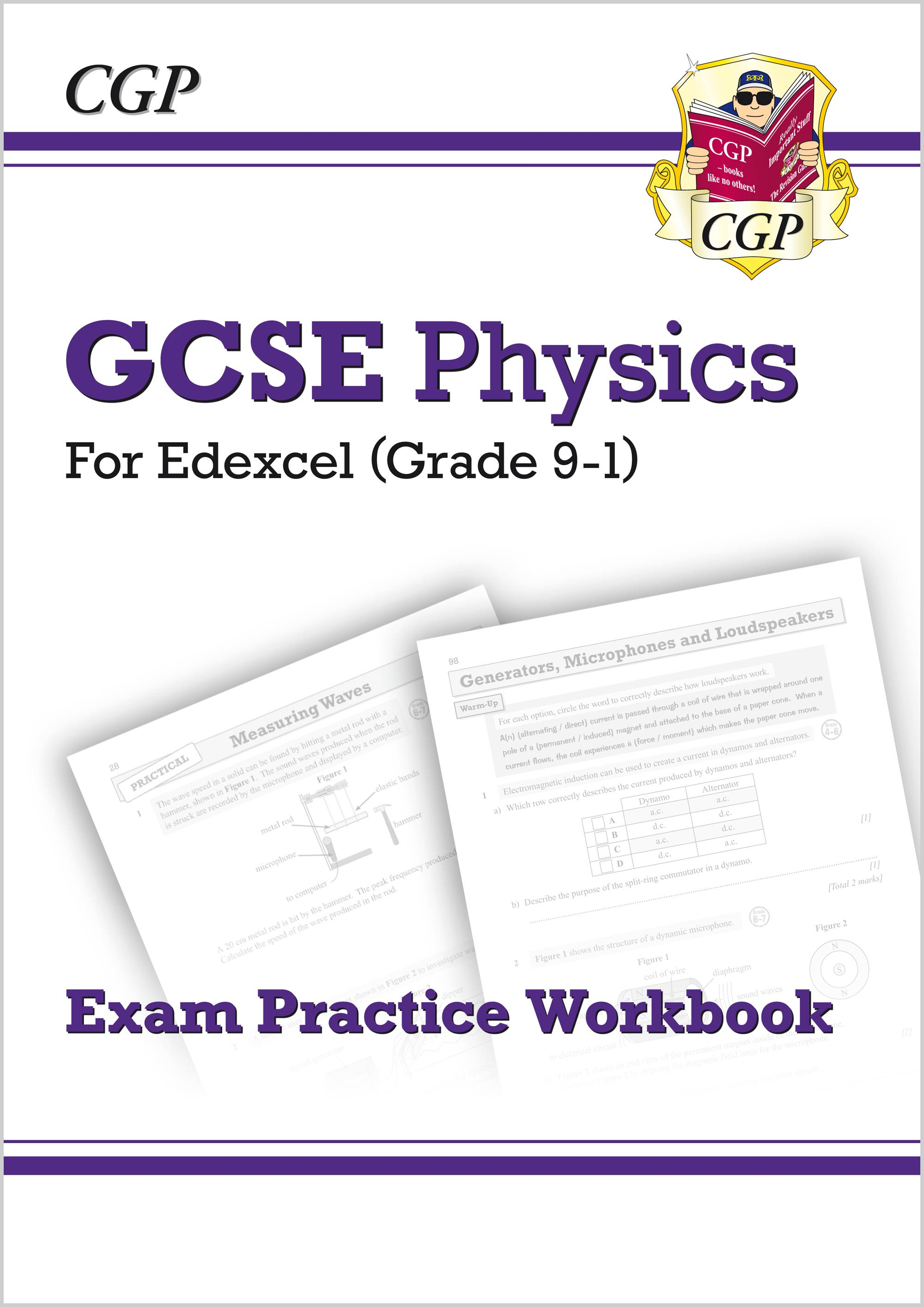 Grade 9-1 GCSE Physics: Edexcel Exam Practice Workbook