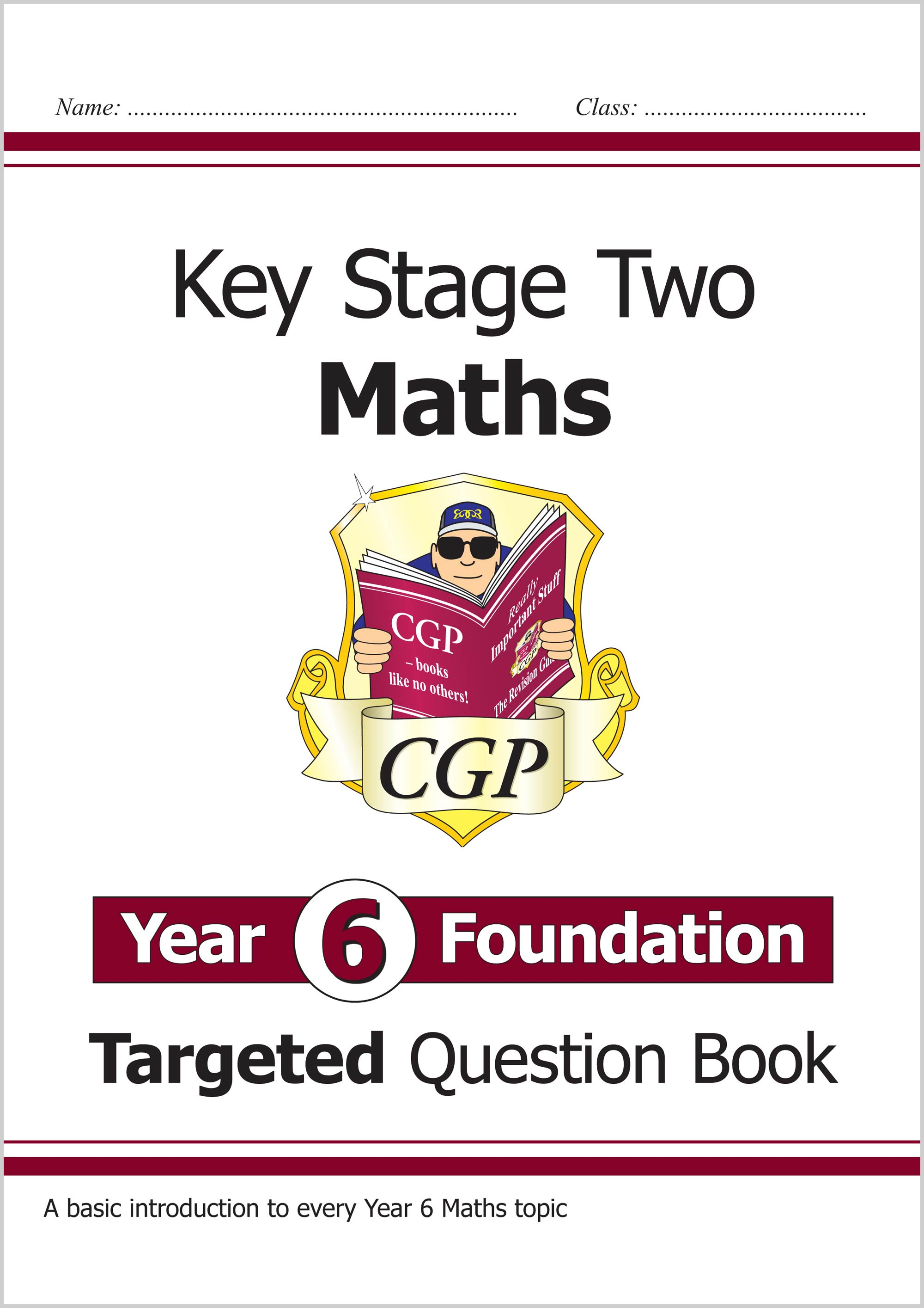 New Ks2 Maths Targeted Question Book Year 6 Foundation