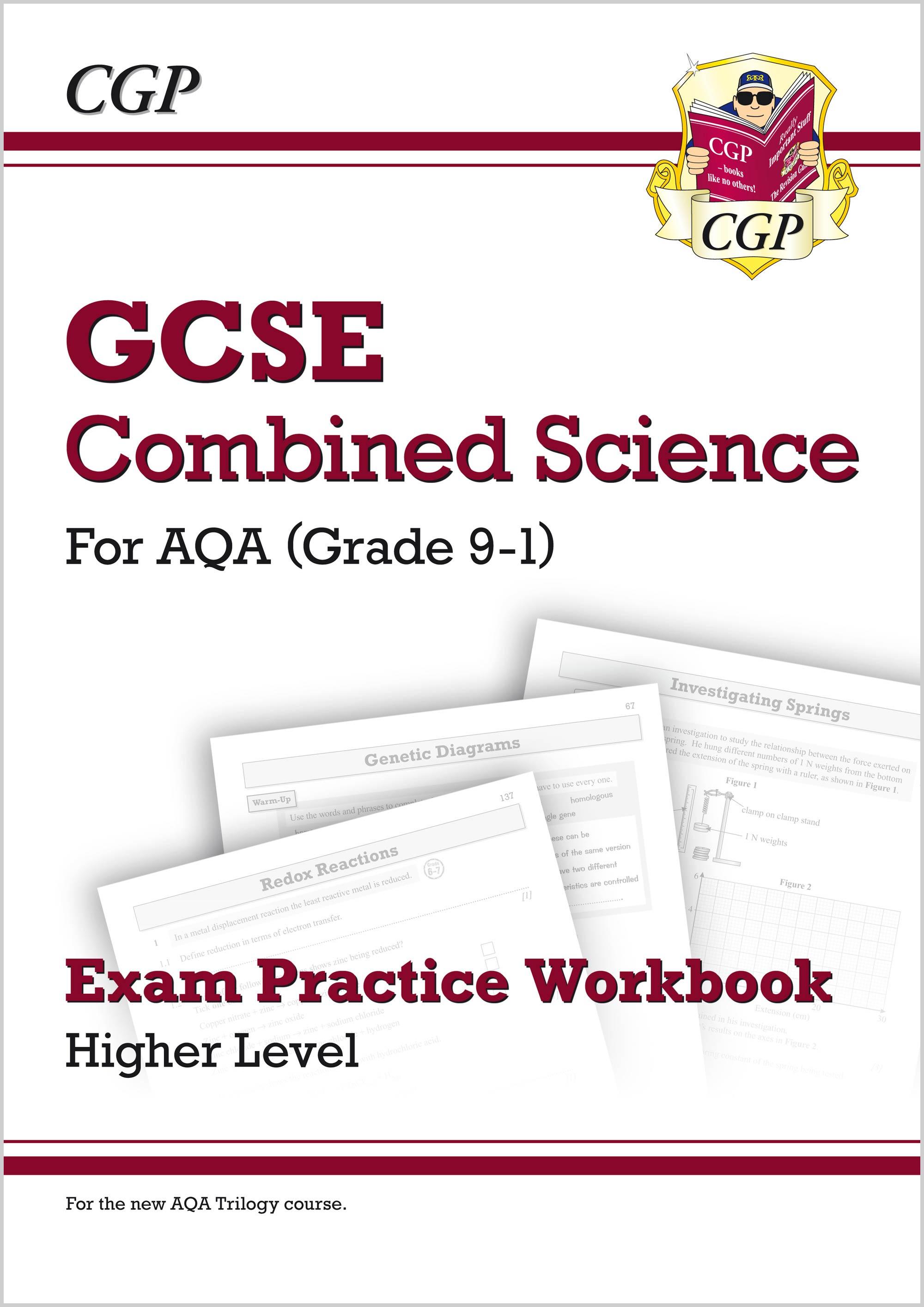 Grade 9-1 GCSE Combined Science: AQA Exam Practice Workbook - Higher