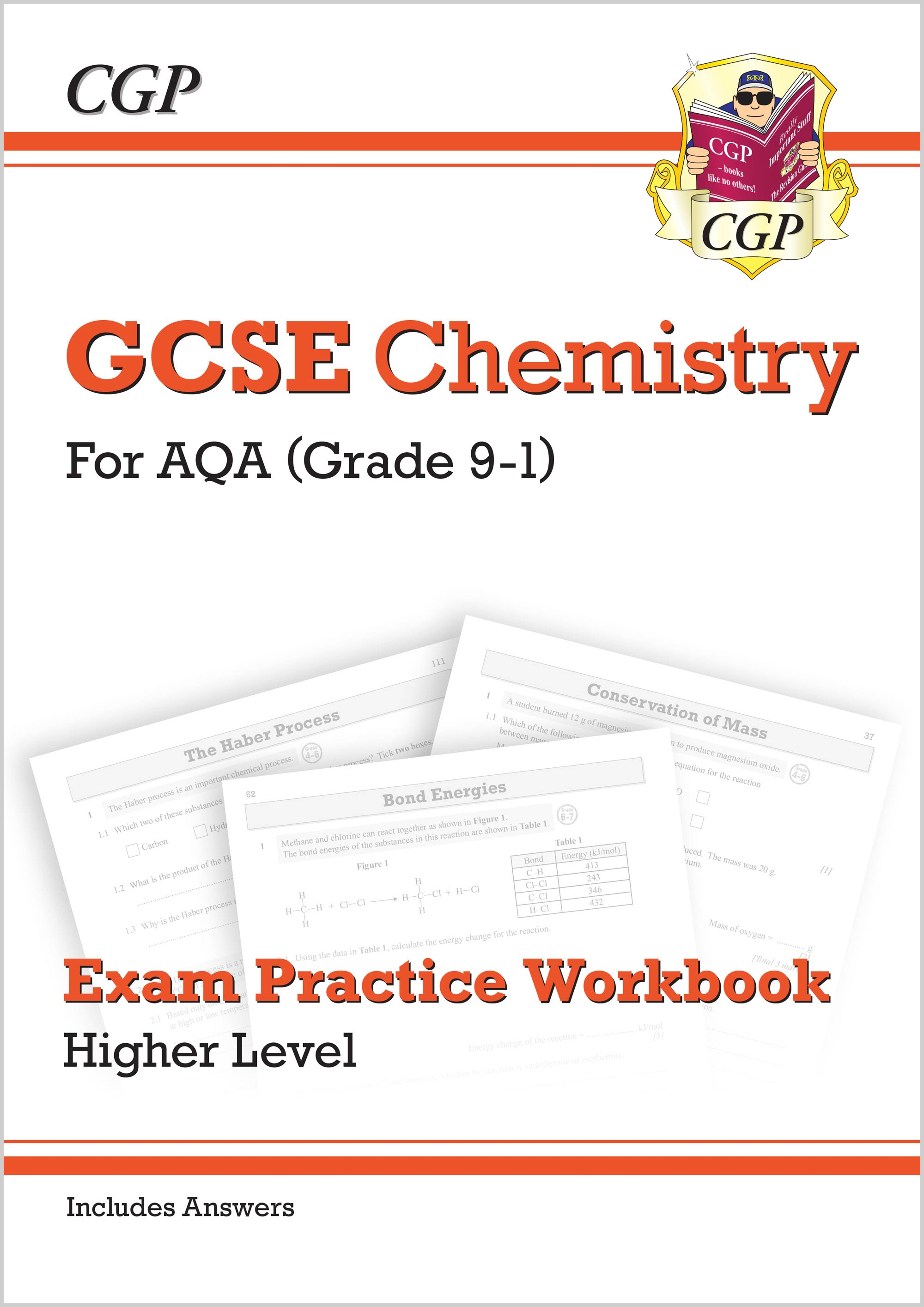New Grade 9-1 GCSE Chemistry: AQA Exam Practice Workbook (with answers) -  Higher
