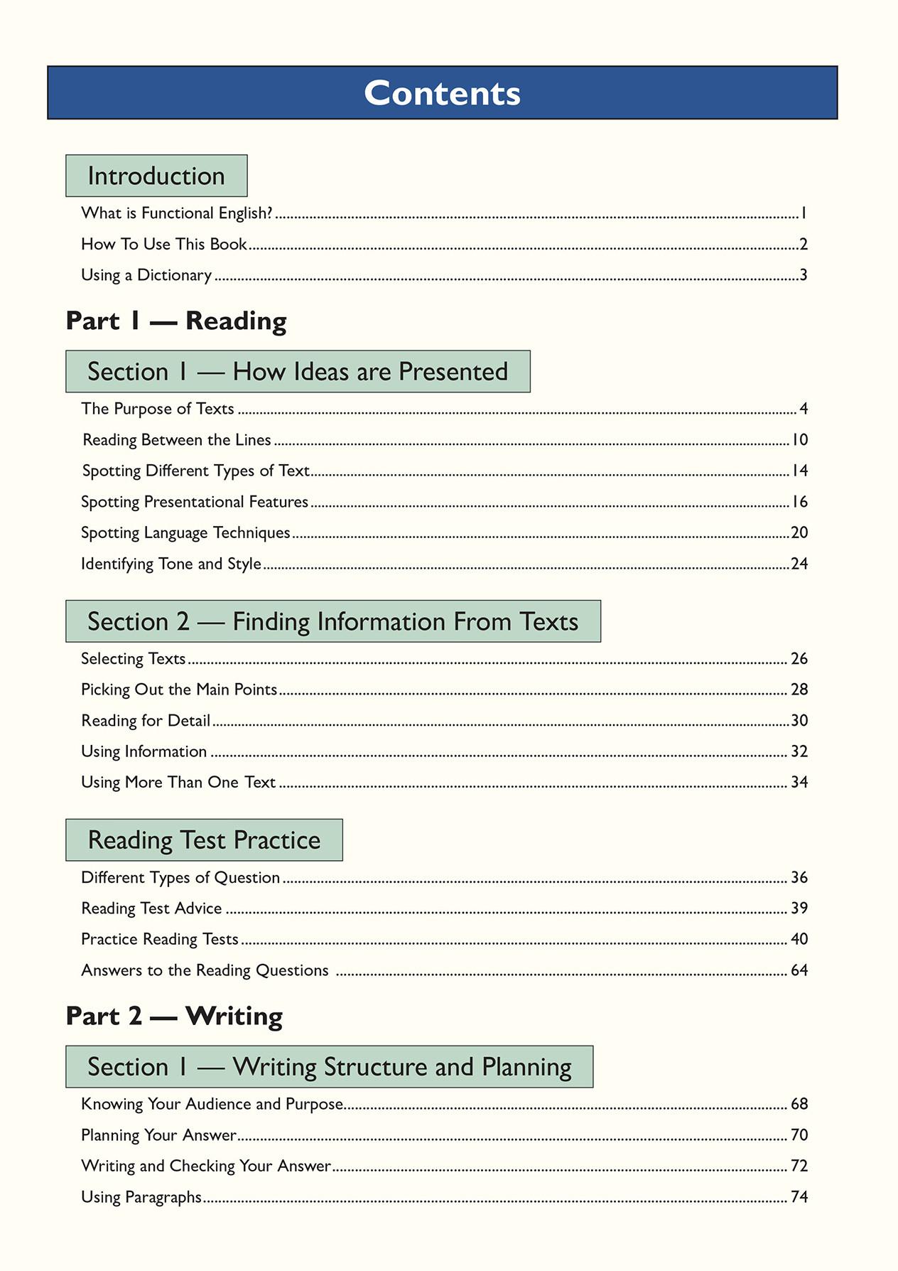 E2SRA2 - Functional Skills English Level 2 - Study & Test Practice