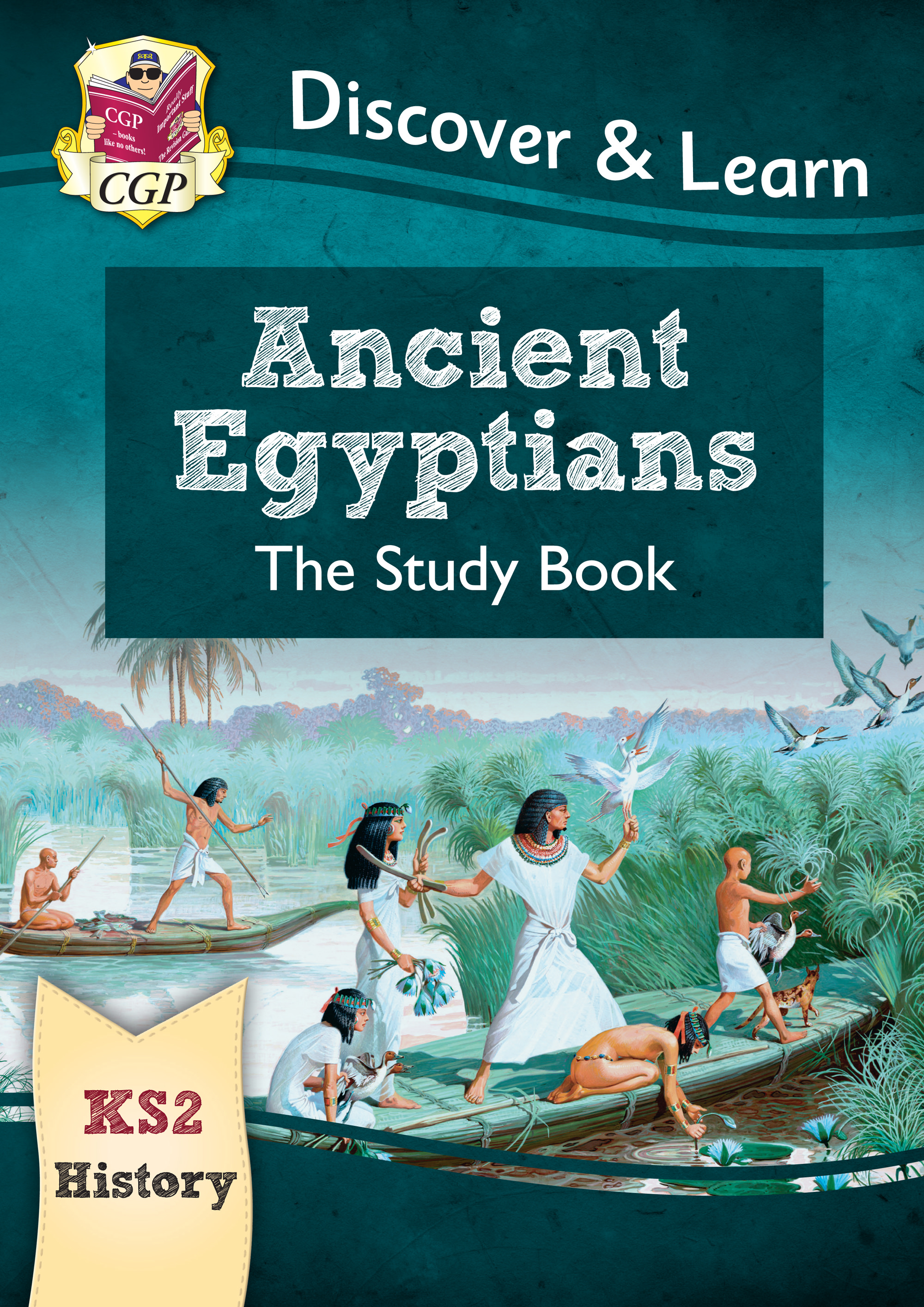 Ks2 Discover Learn History Ancient Egyptians Study Book Cgp Books