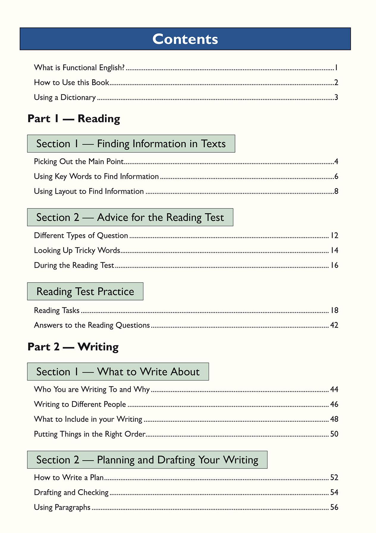 E3SRA2 - Functional Skills English Entry Level 3 - Study & Test Practice
